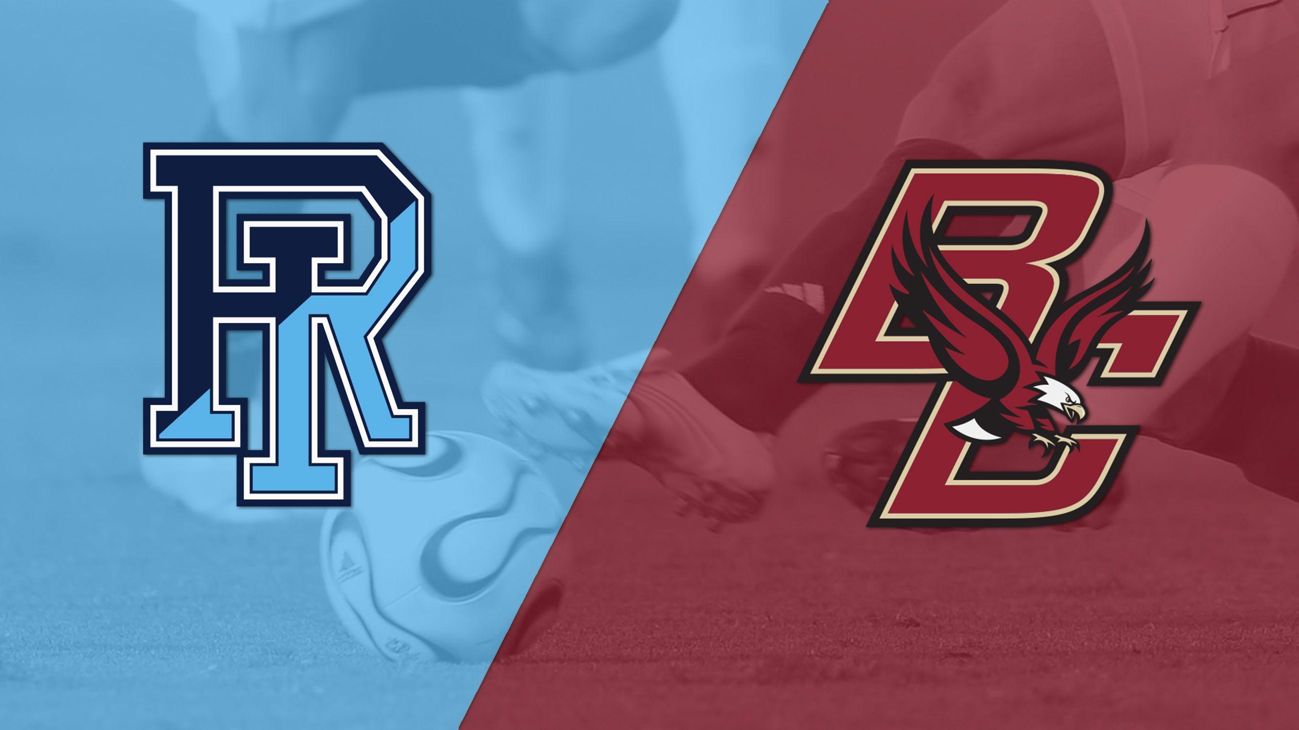Rhode Island vs. Boston College (M Soccer)