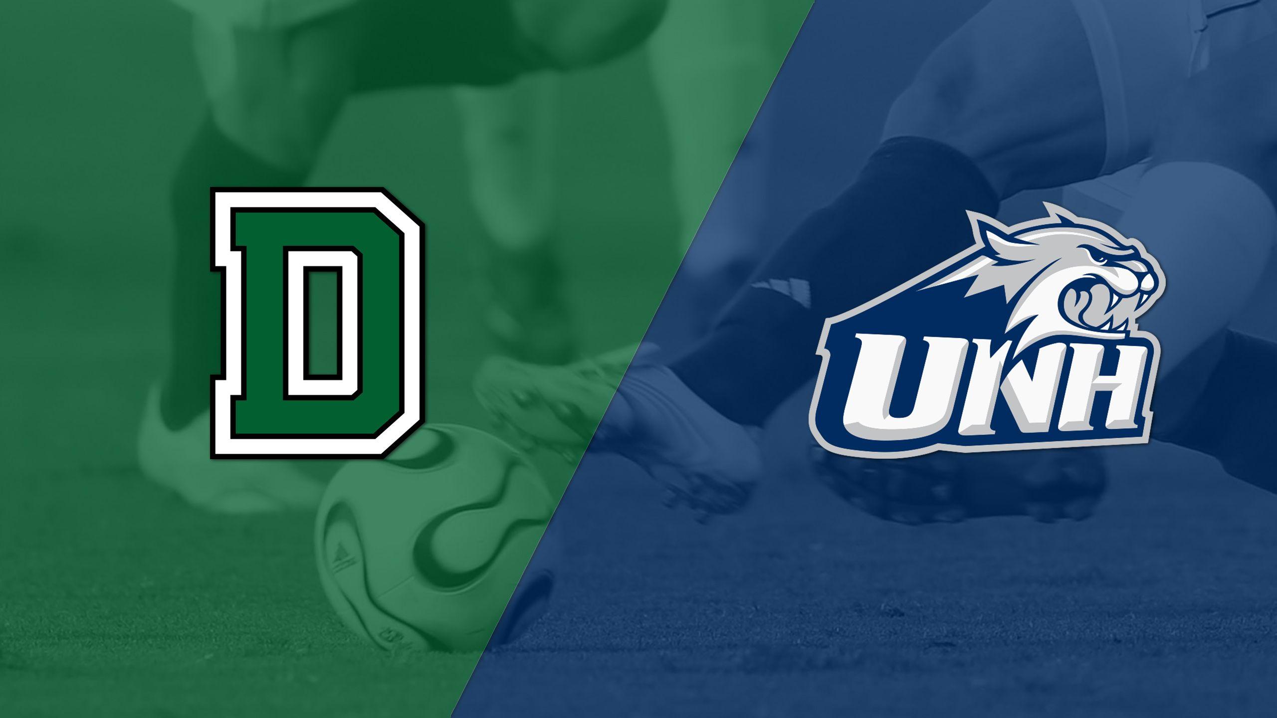 #20 Dartmouth vs. #18 New Hampshire (M Soccer)