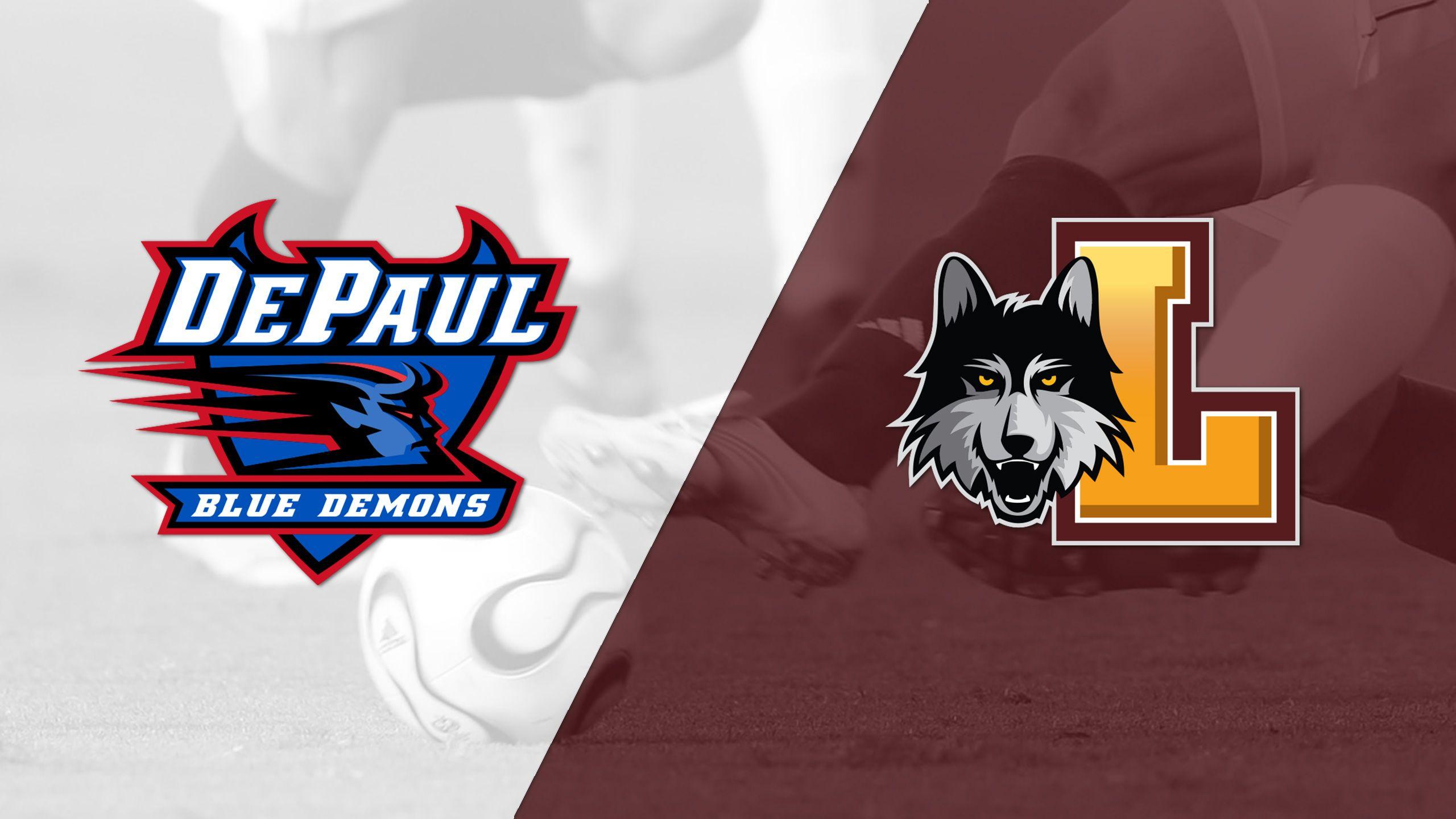 DePaul vs. Loyola (IL) (M Soccer)