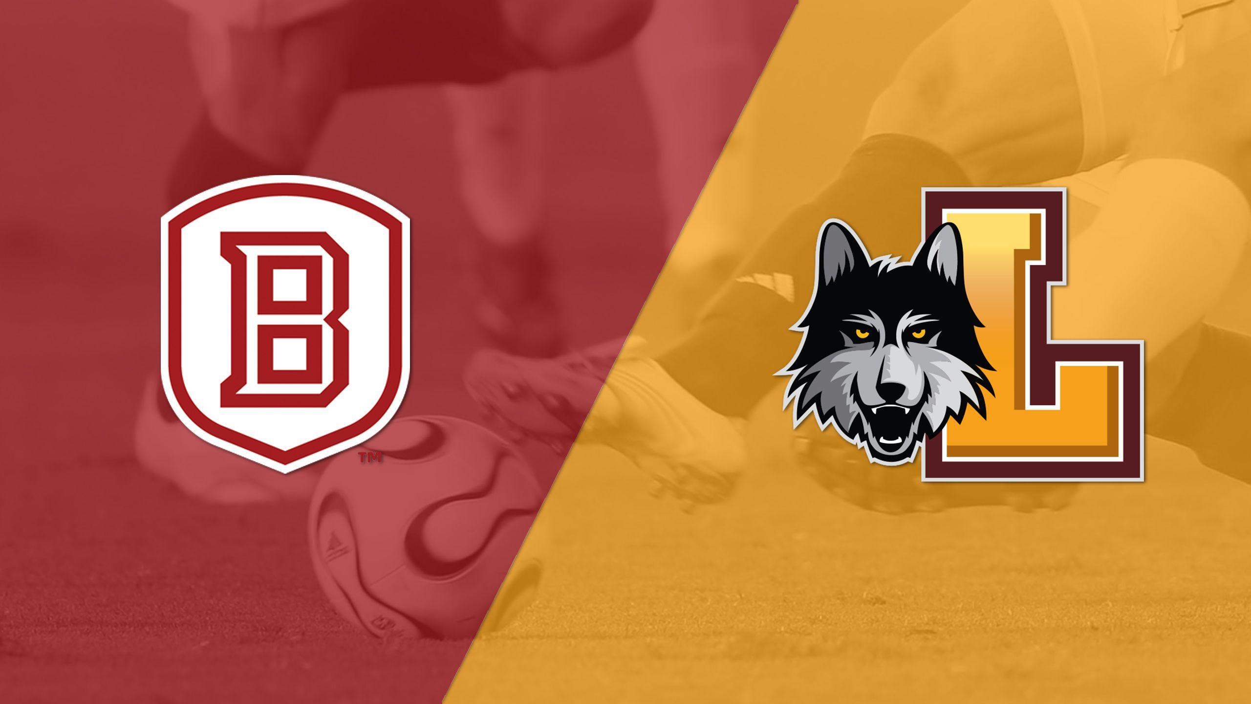 Bradley vs. Loyola-Chicago (M Soccer)