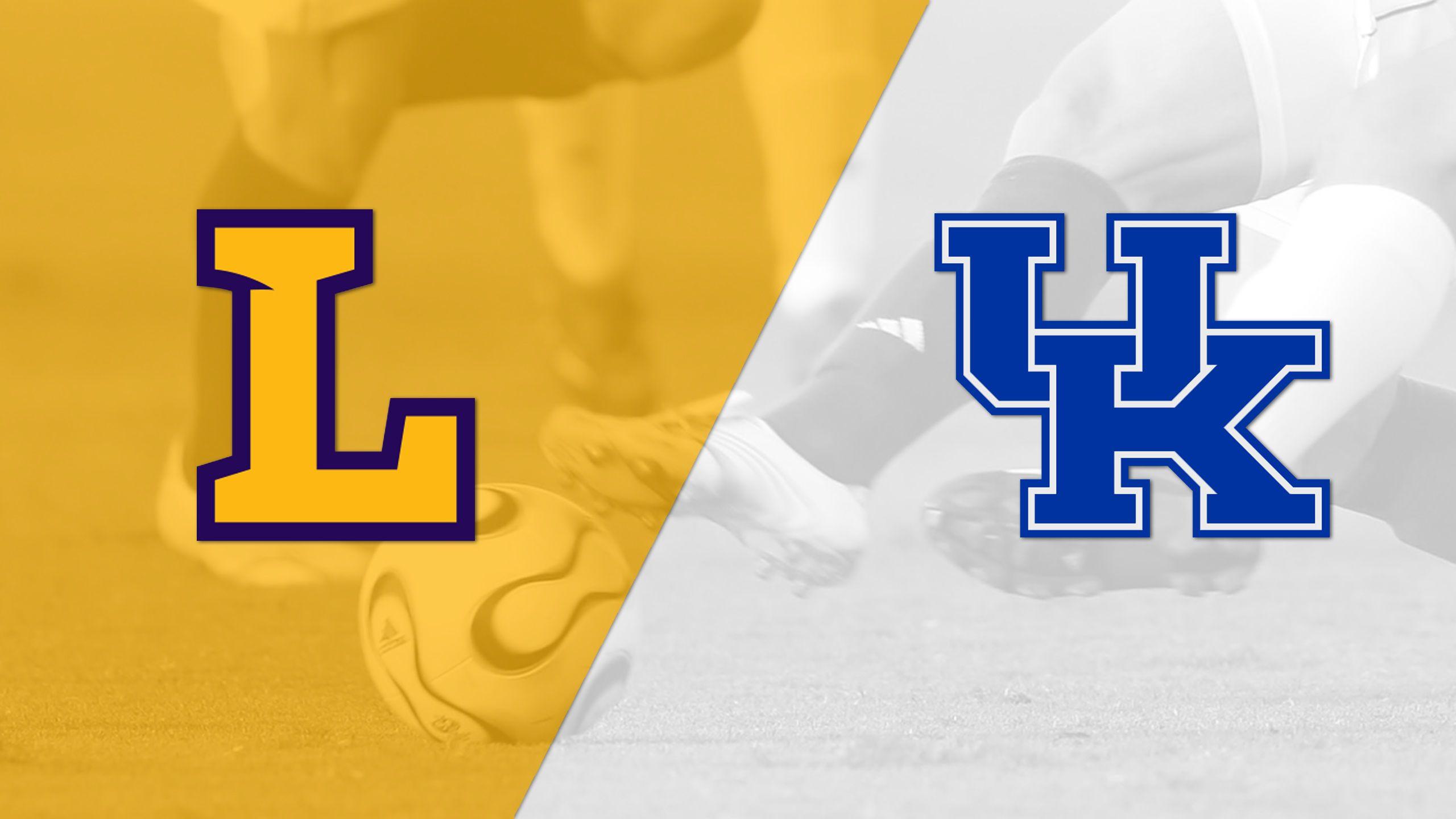 Lipscomb vs. Kentucky (M Soccer)