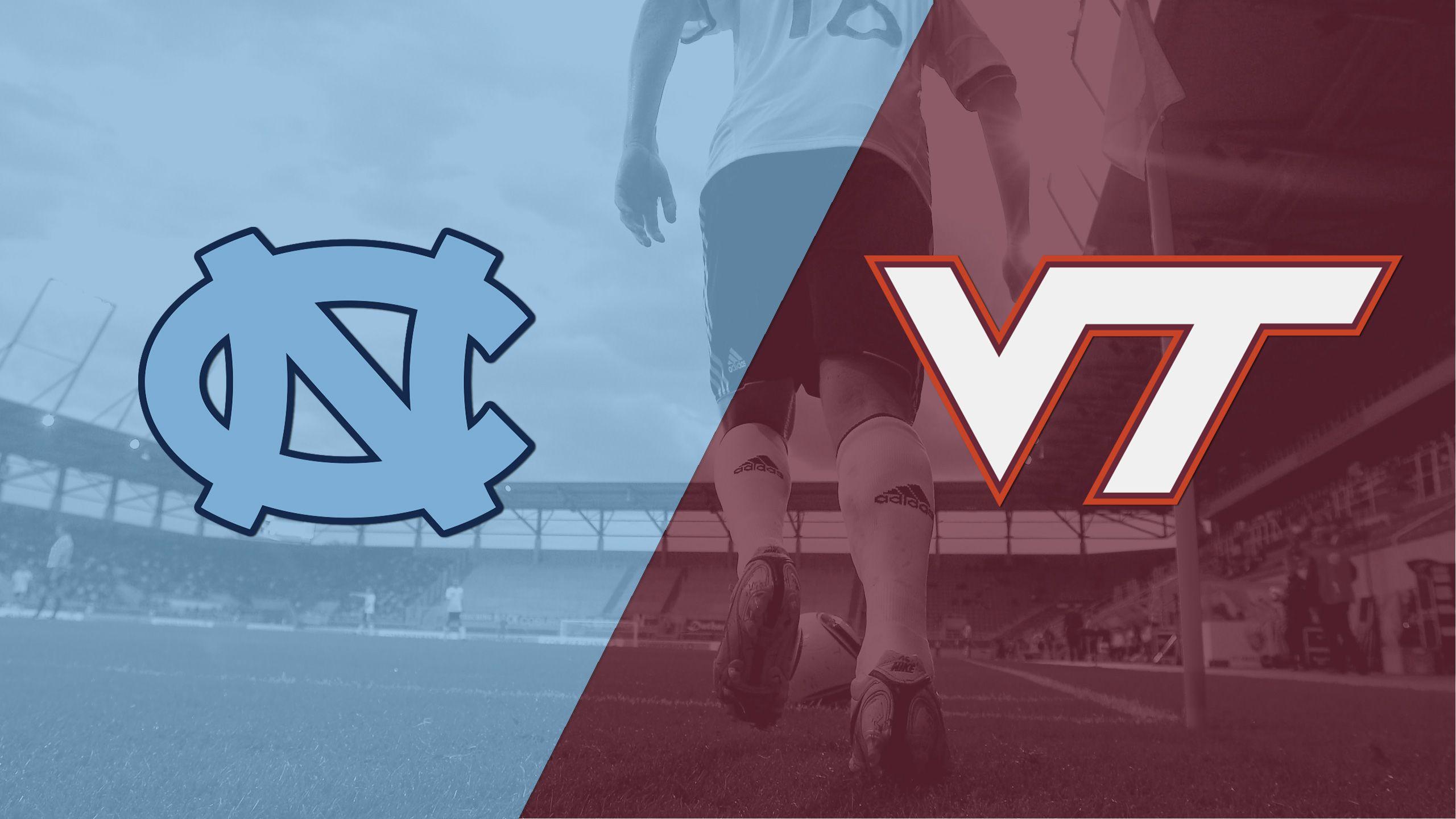 #4 North Carolina vs. Virginia Tech (M Soccer)