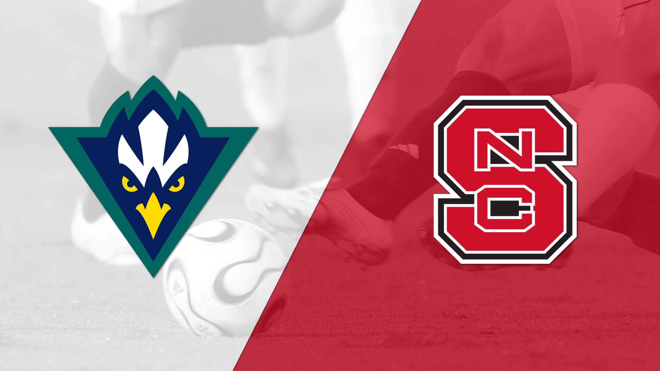 UNC-Wilmington vs. NC State (M Soccer)