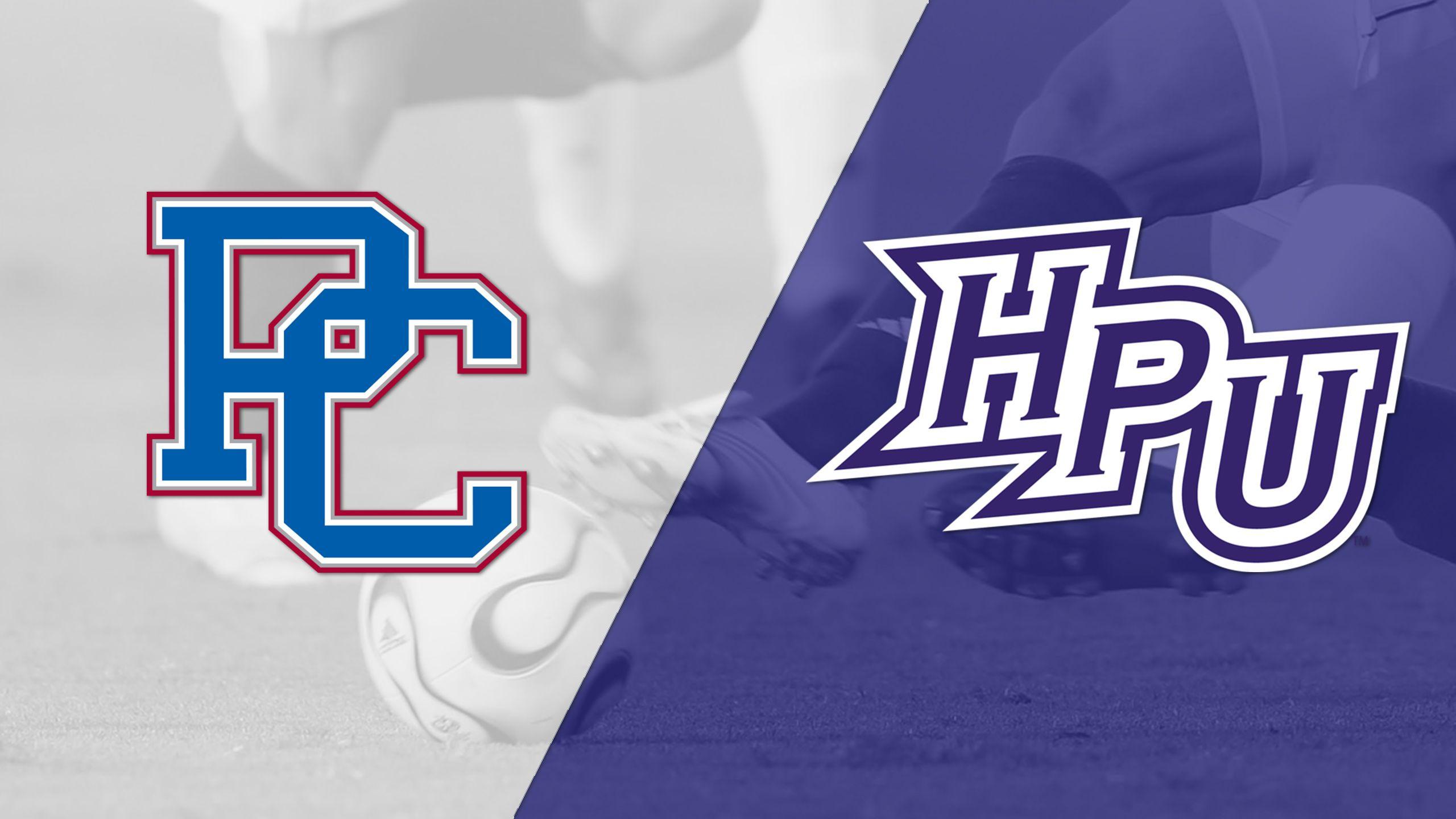 Presbyterian vs. High Point (Championship) (Big South Men's Soccer Championship)