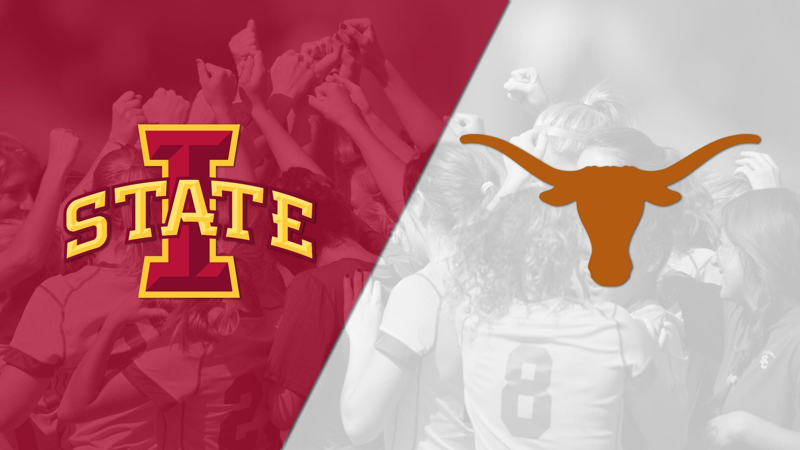 Iowa State vs. #17 Texas (W Soccer) (re-air)
