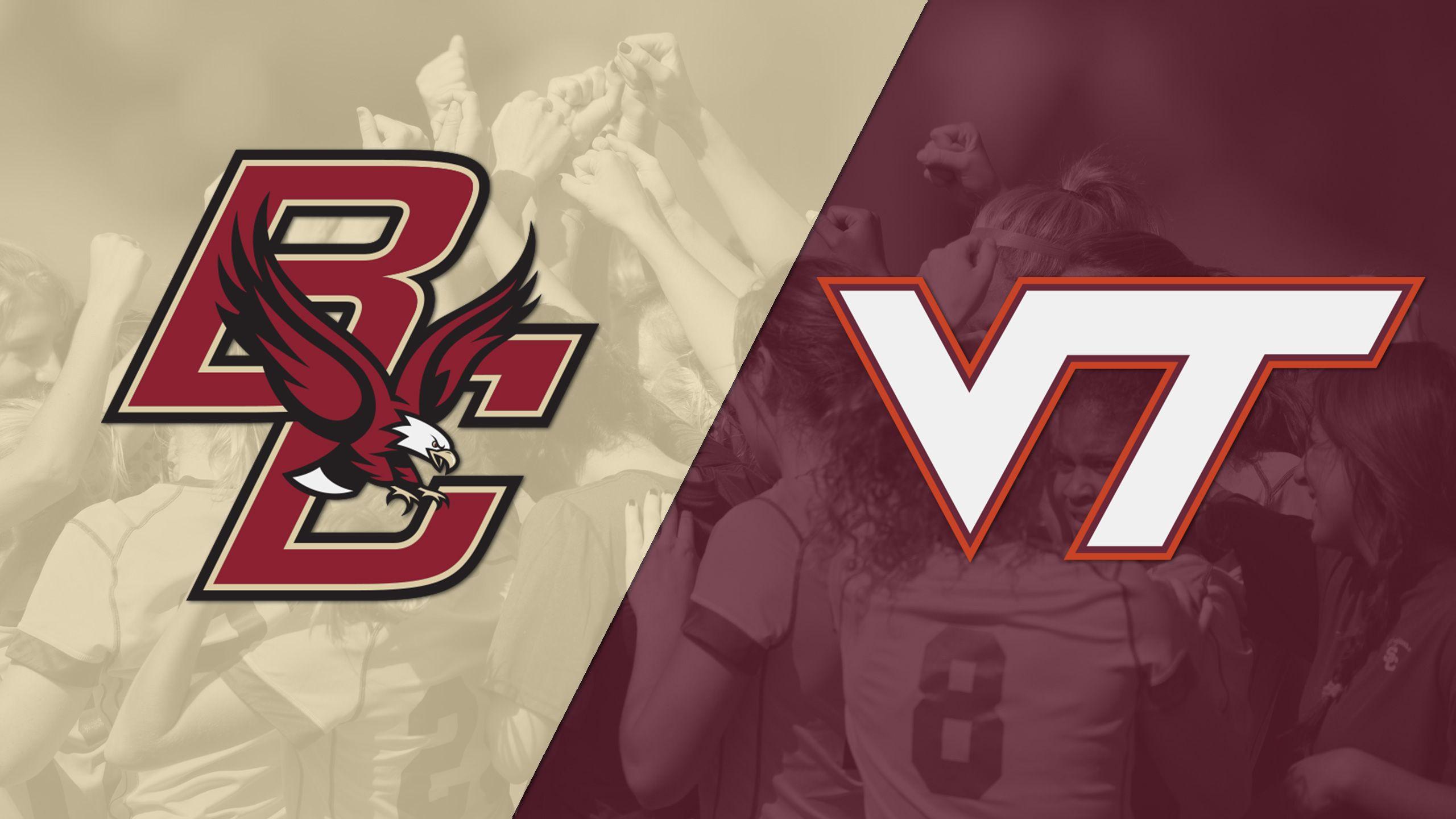 Boston College vs. Virginia Tech (W Soccer)