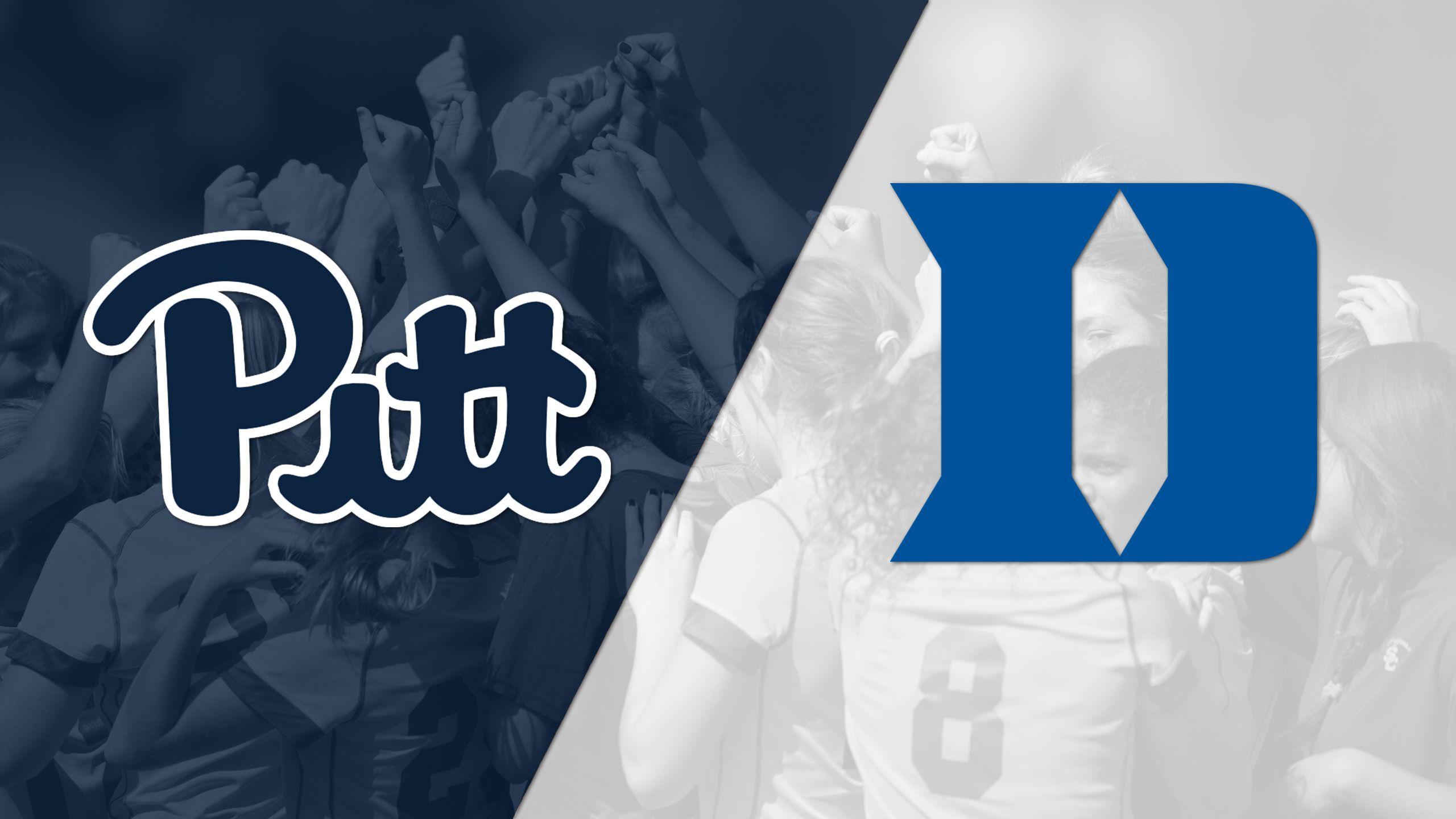 Pittsburgh vs. #4 Duke (W Soccer)