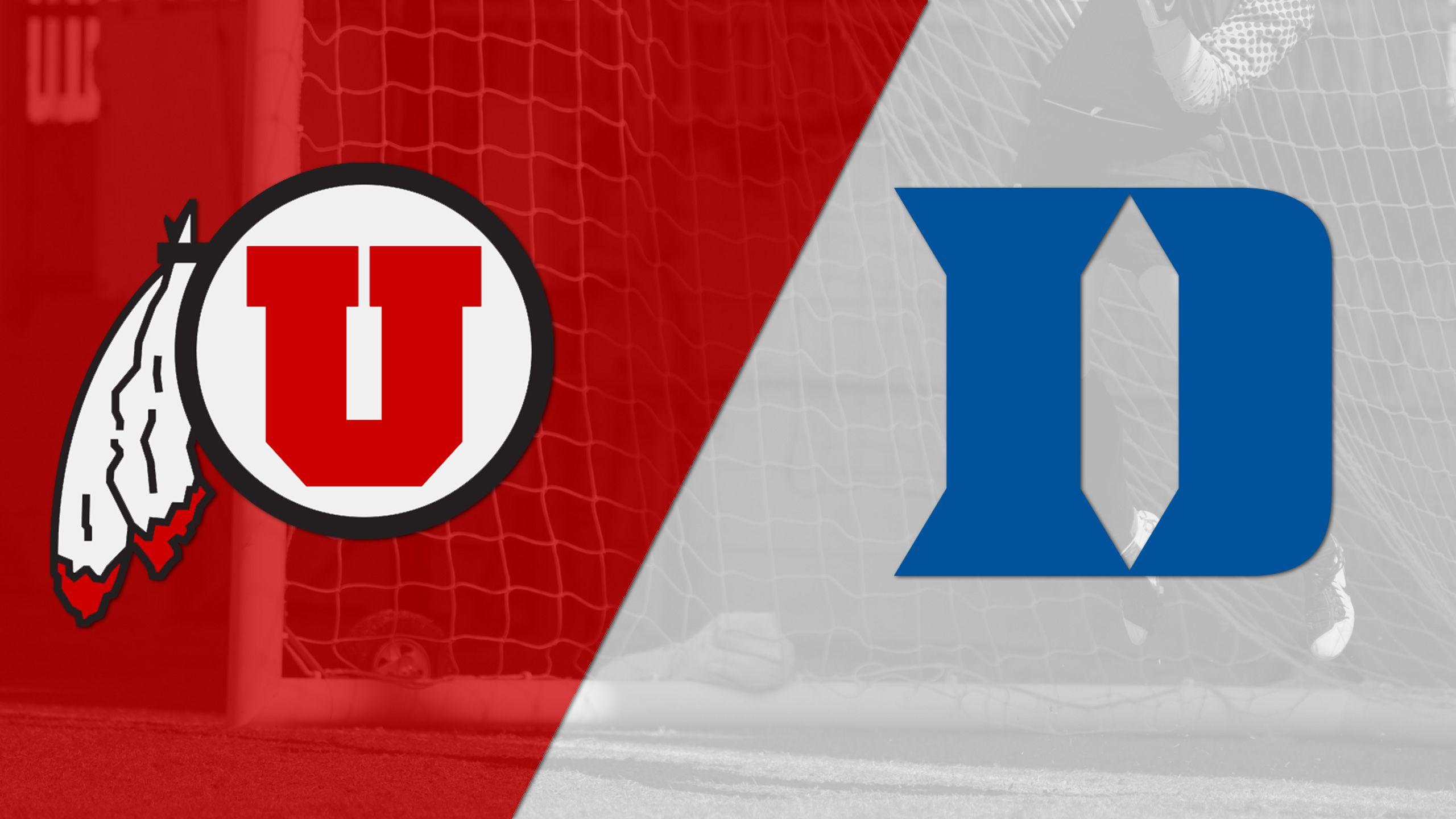 #21 Utah vs. #11 Duke (W Soccer)