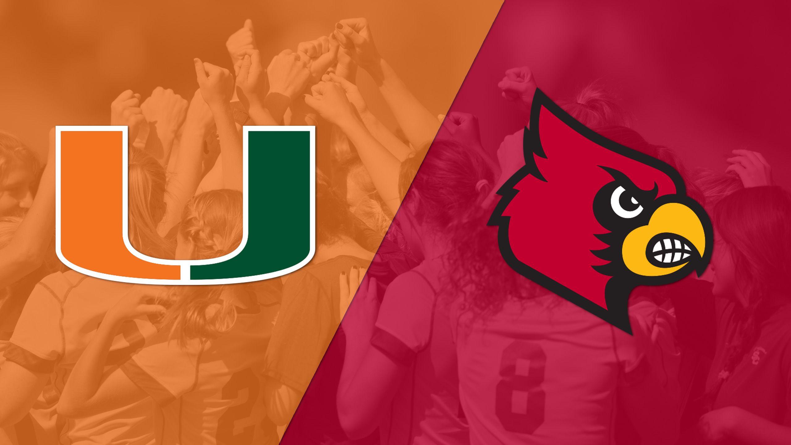 Miami vs. Louisville (W Soccer)