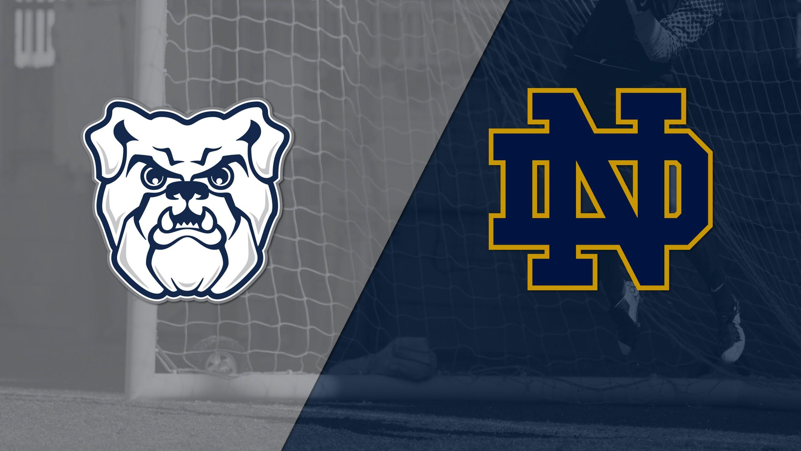 Butler vs. #18 Notre Dame (W Soccer)