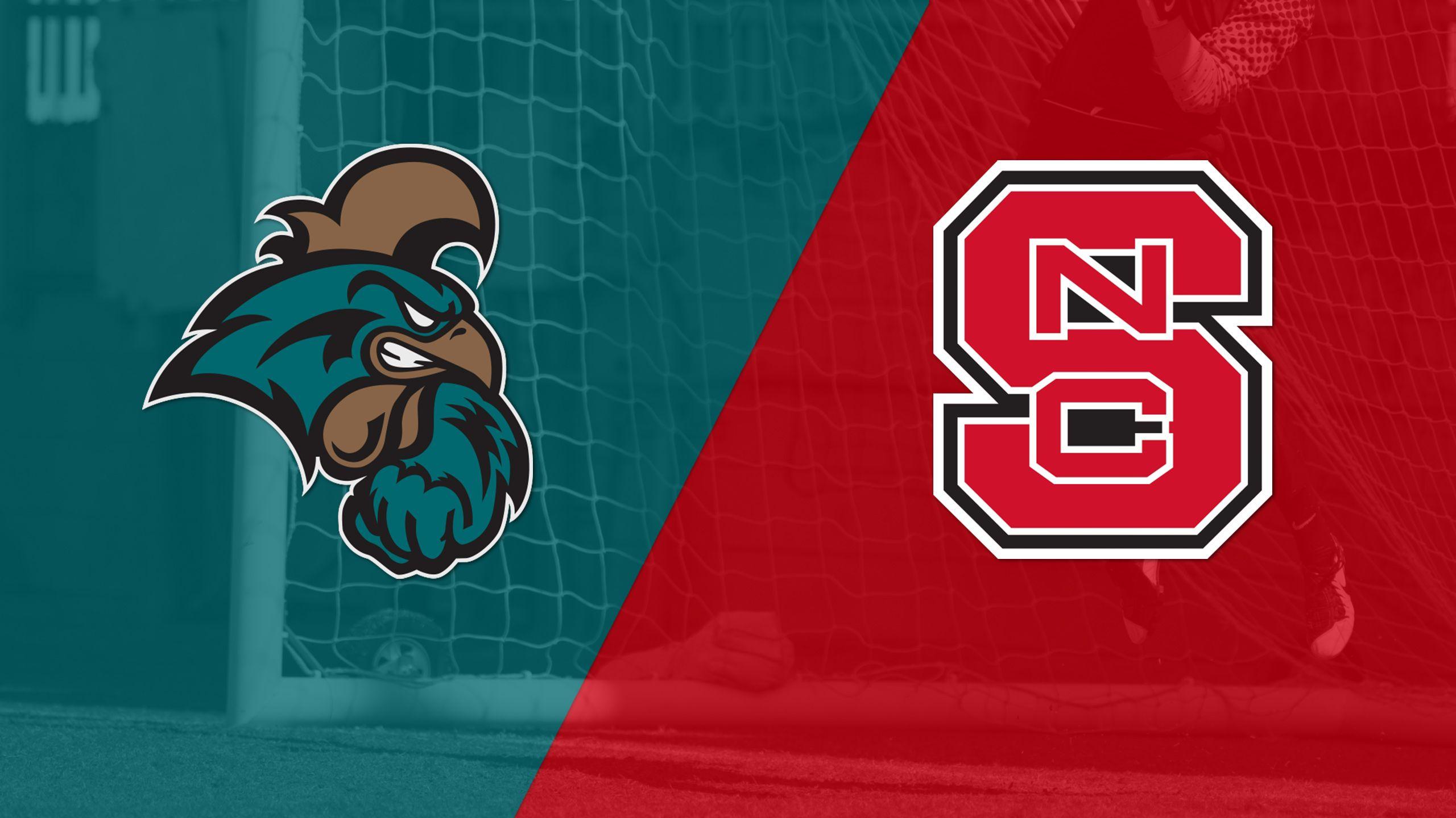 Coastal Carolina vs. #25 NC State (W Soccer)