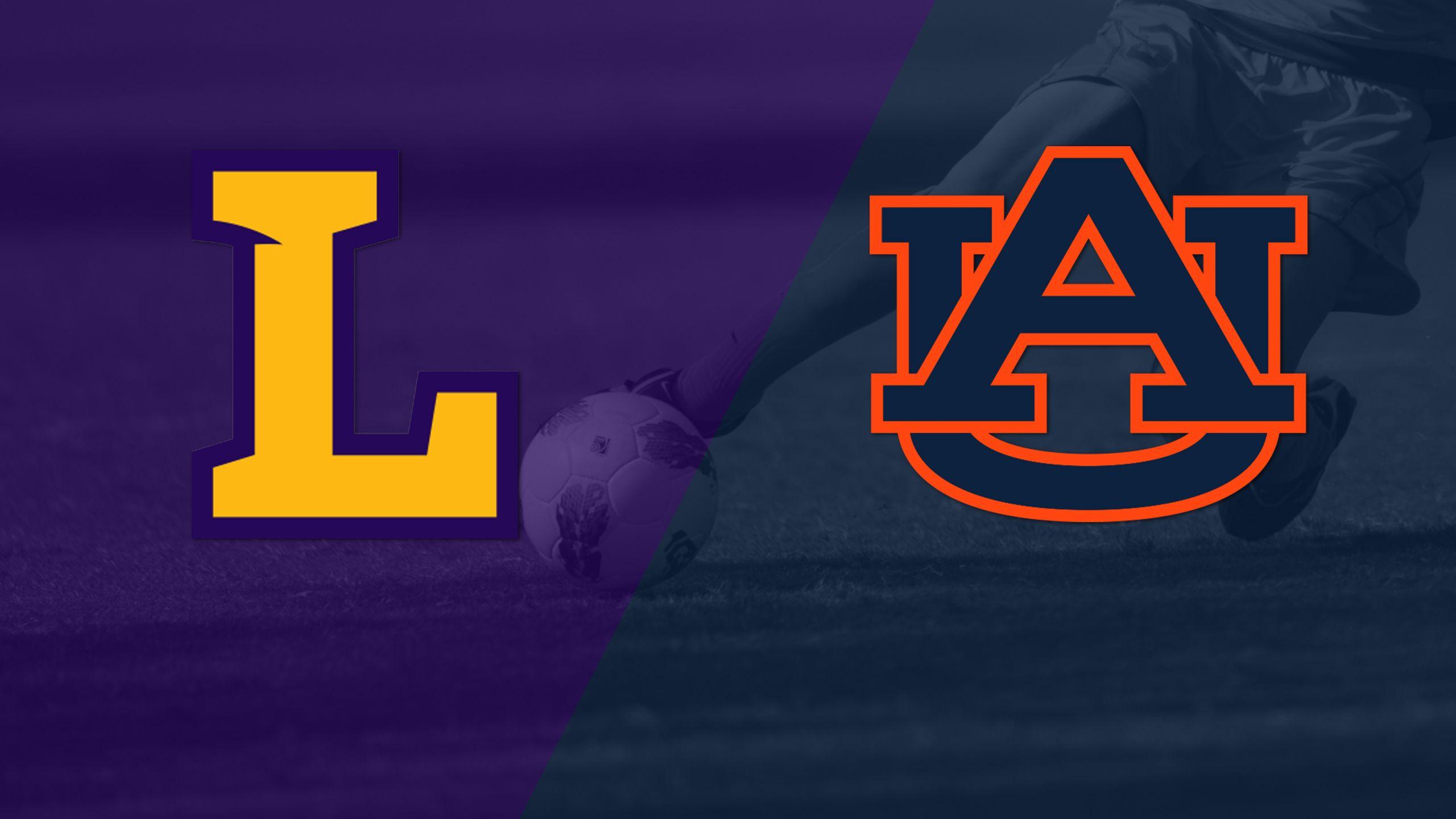 Lipscomb vs. #10 Auburn (W Soccer)