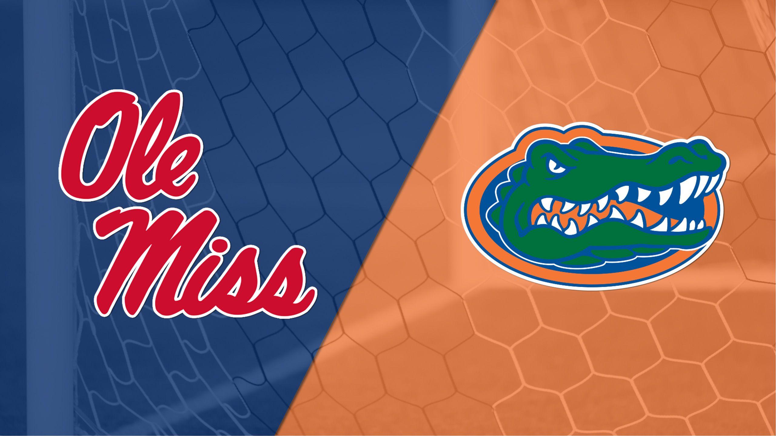 #24 Ole Miss vs. #7 Florida (W Soccer)