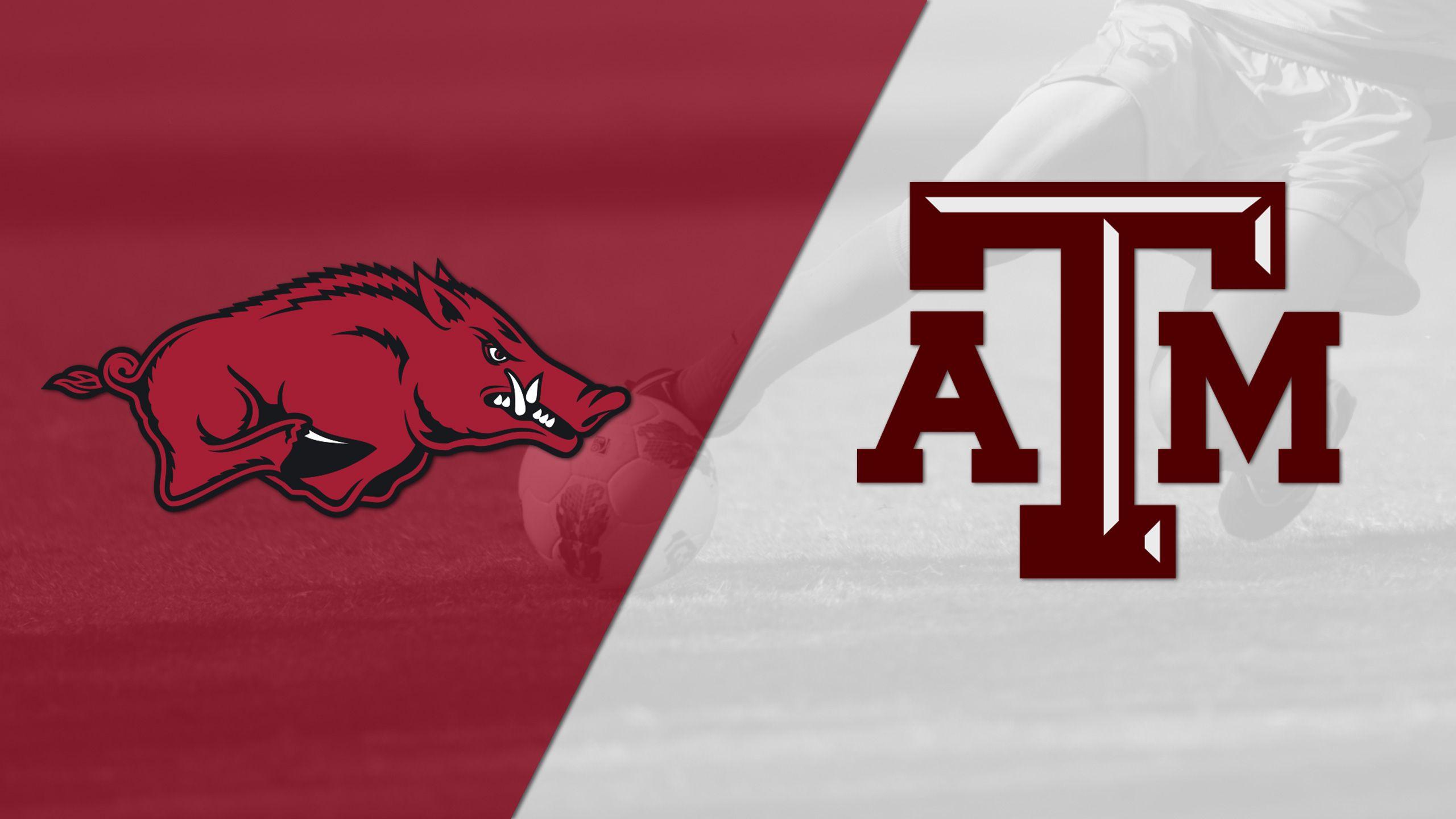 Arkansas vs. #23 Texas A&M (W Soccer)