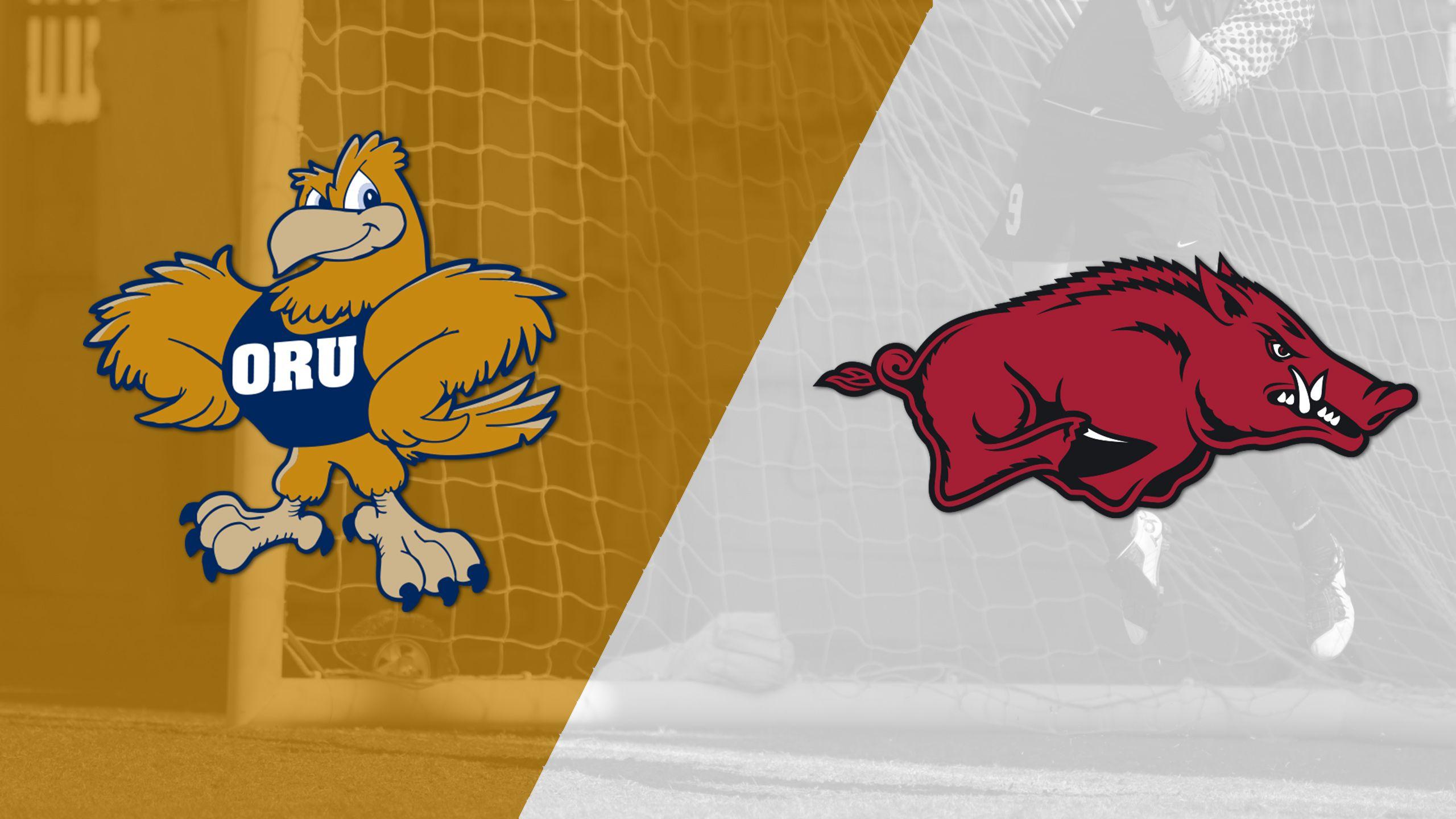 Oral Roberts vs. Arkansas (W Soccer)