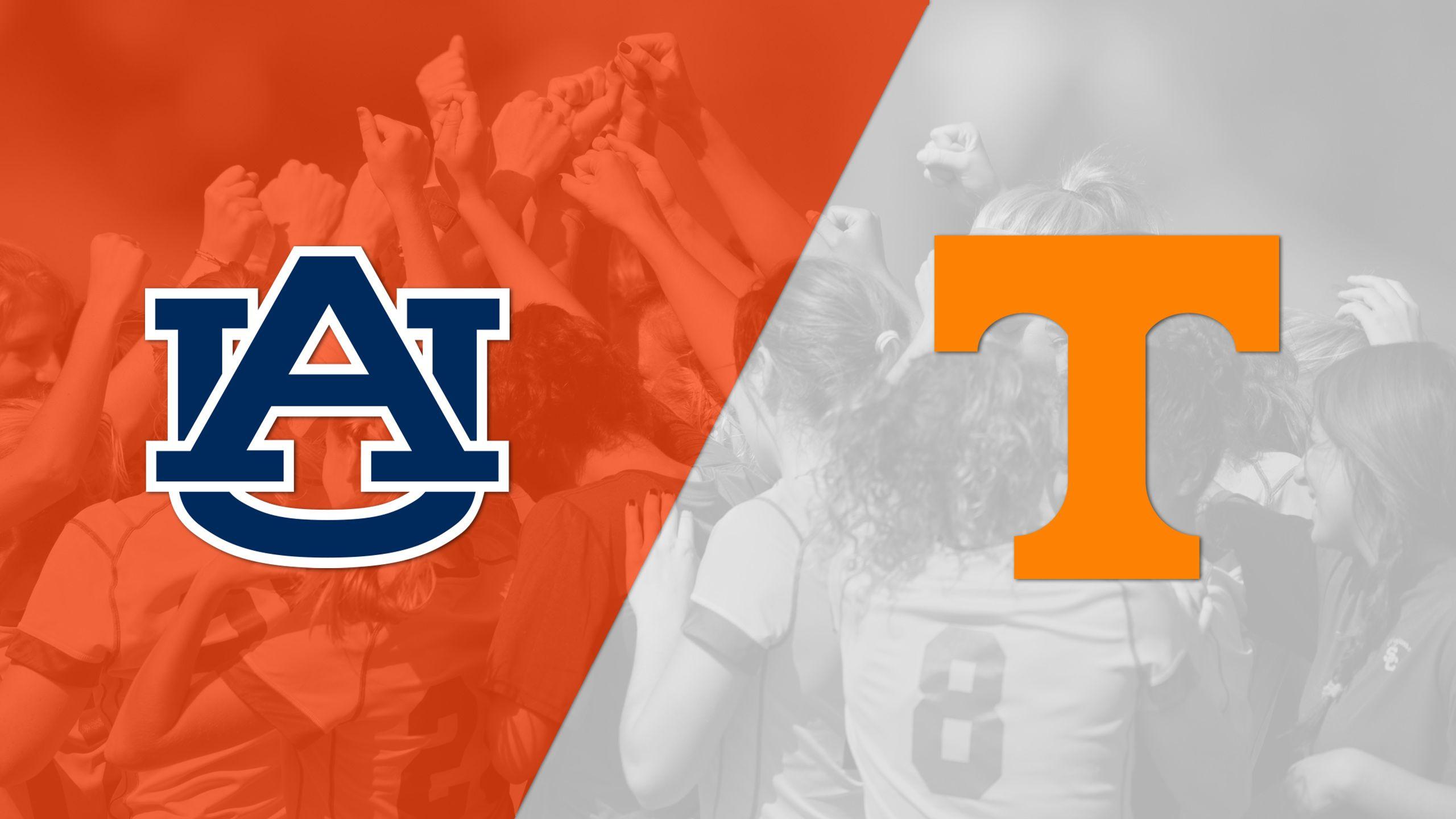 Auburn vs. #21 Tennessee (W Soccer)