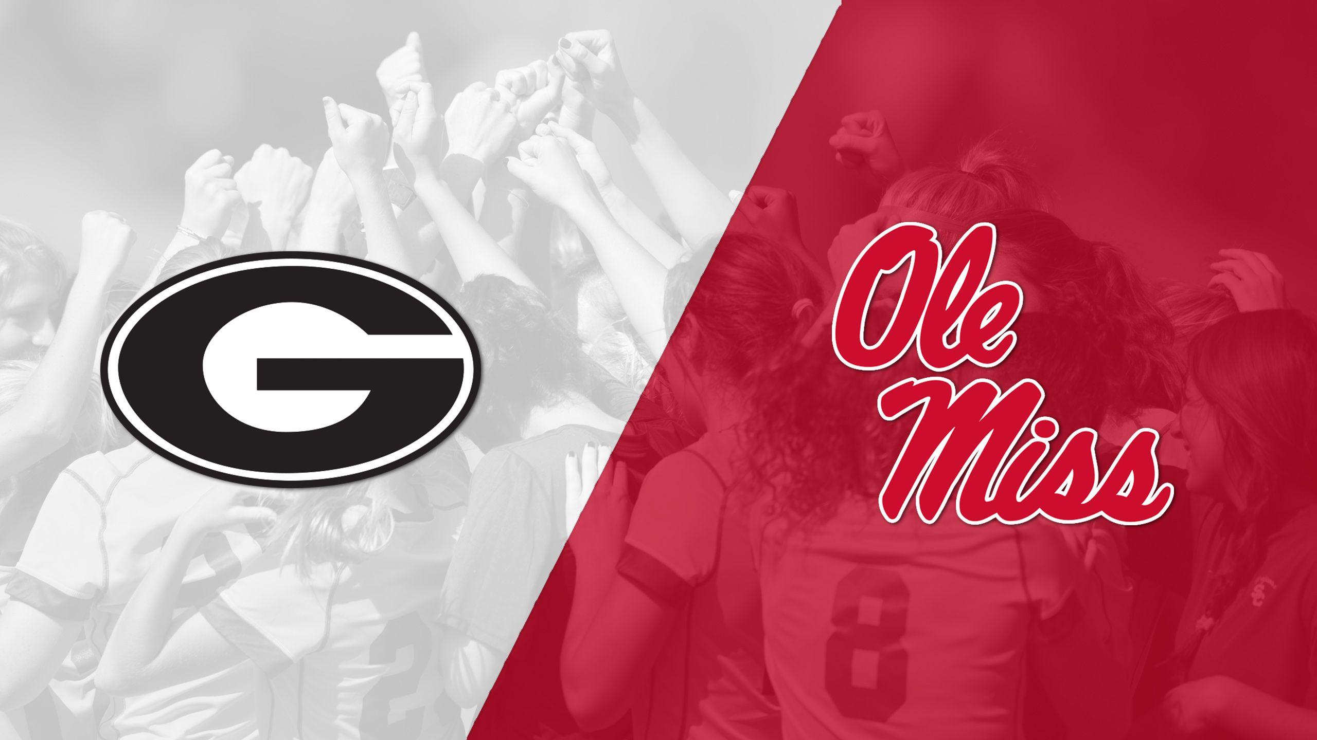 Georgia vs. #20 Ole Miss (W Soccer)