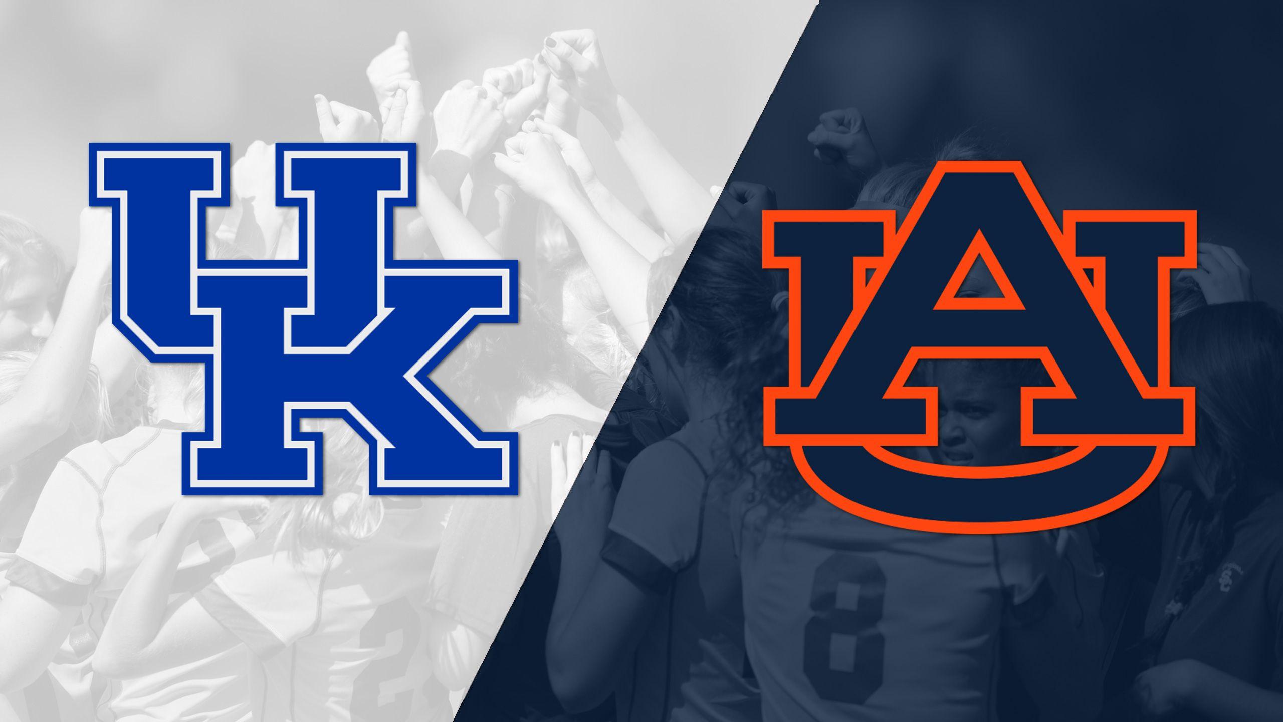 Kentucky vs. Auburn (W Soccer)