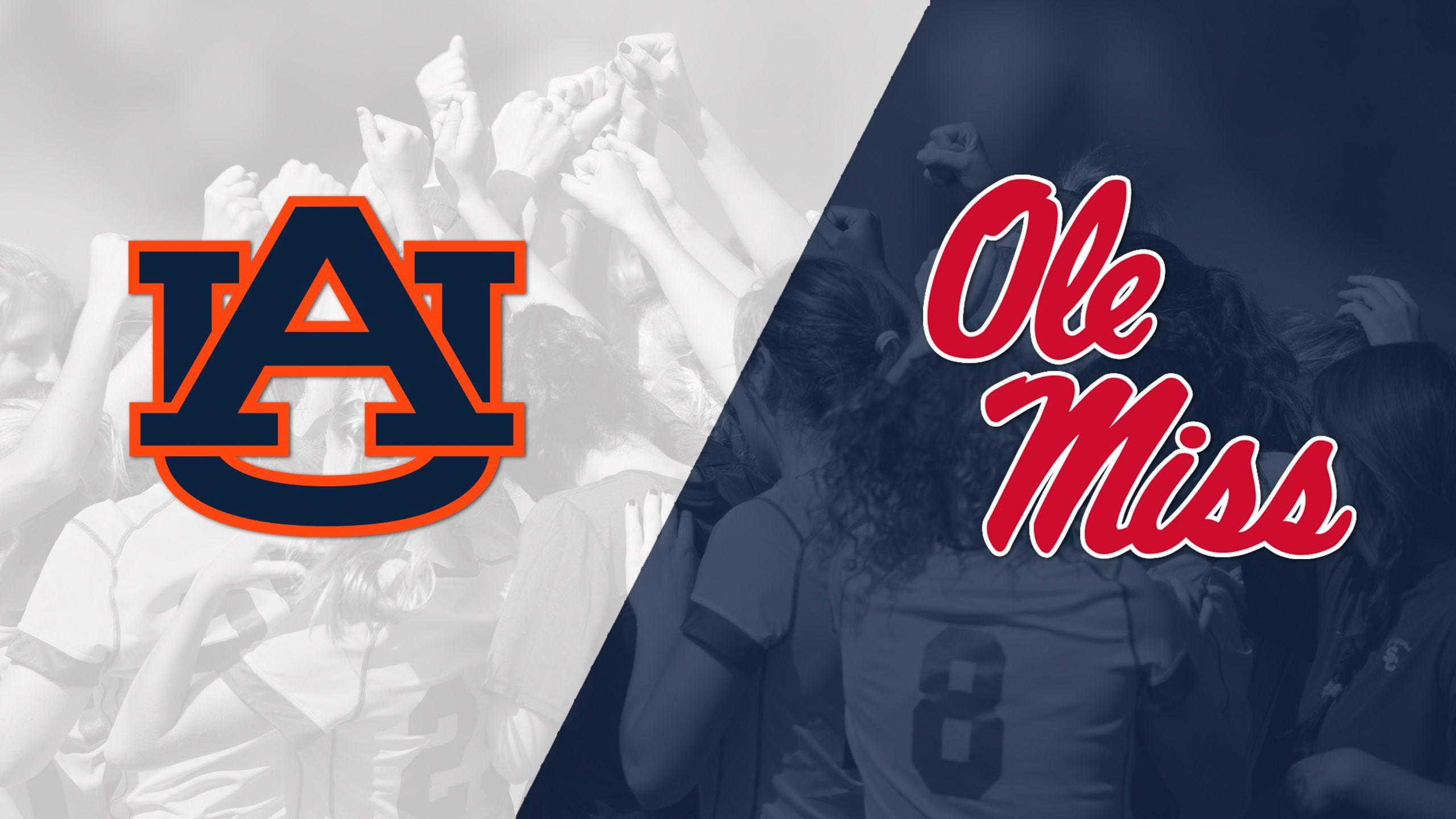 Auburn vs. Ole Miss (W Soccer)