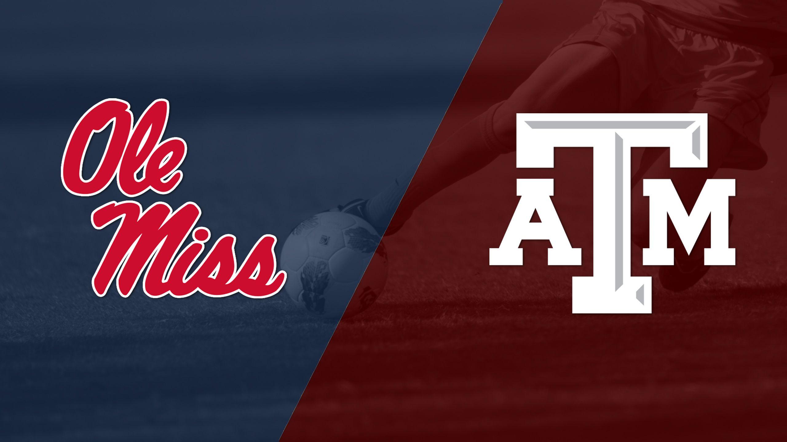 Ole Miss vs. #20 Texas A&M (W Soccer)