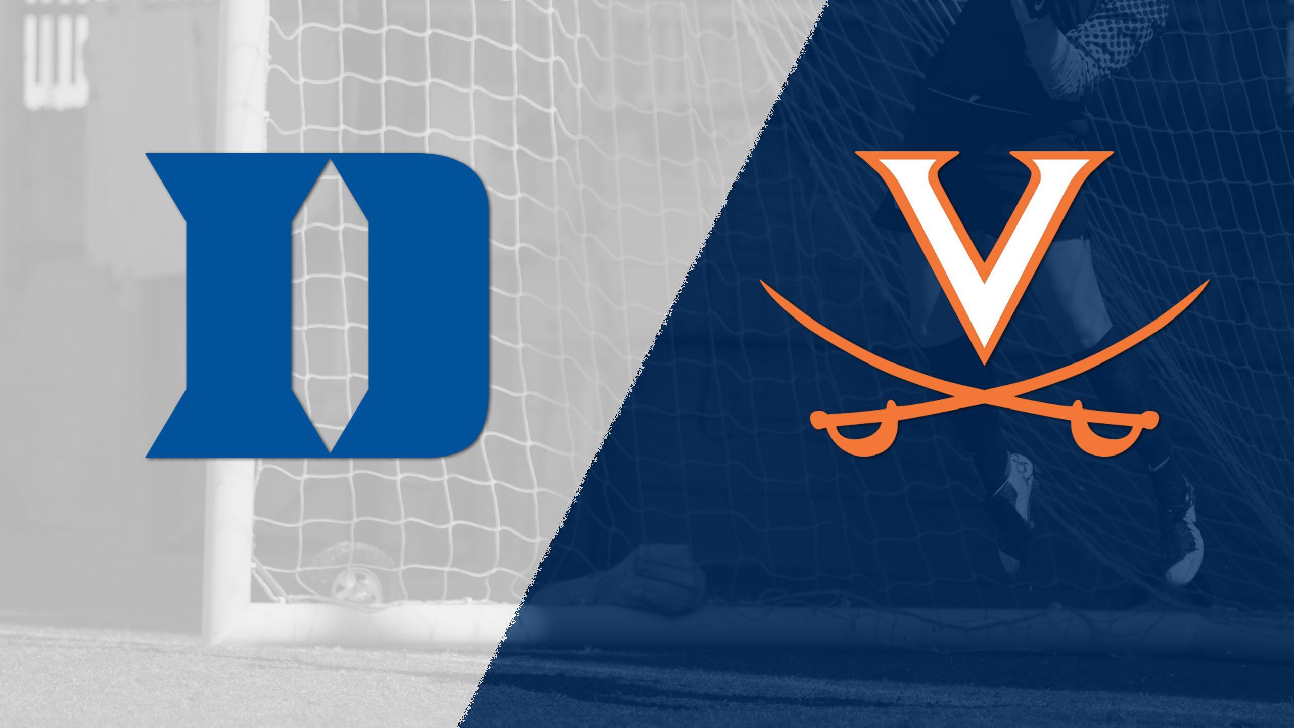 #2 Duke vs. #10 Virginia (W Soccer)