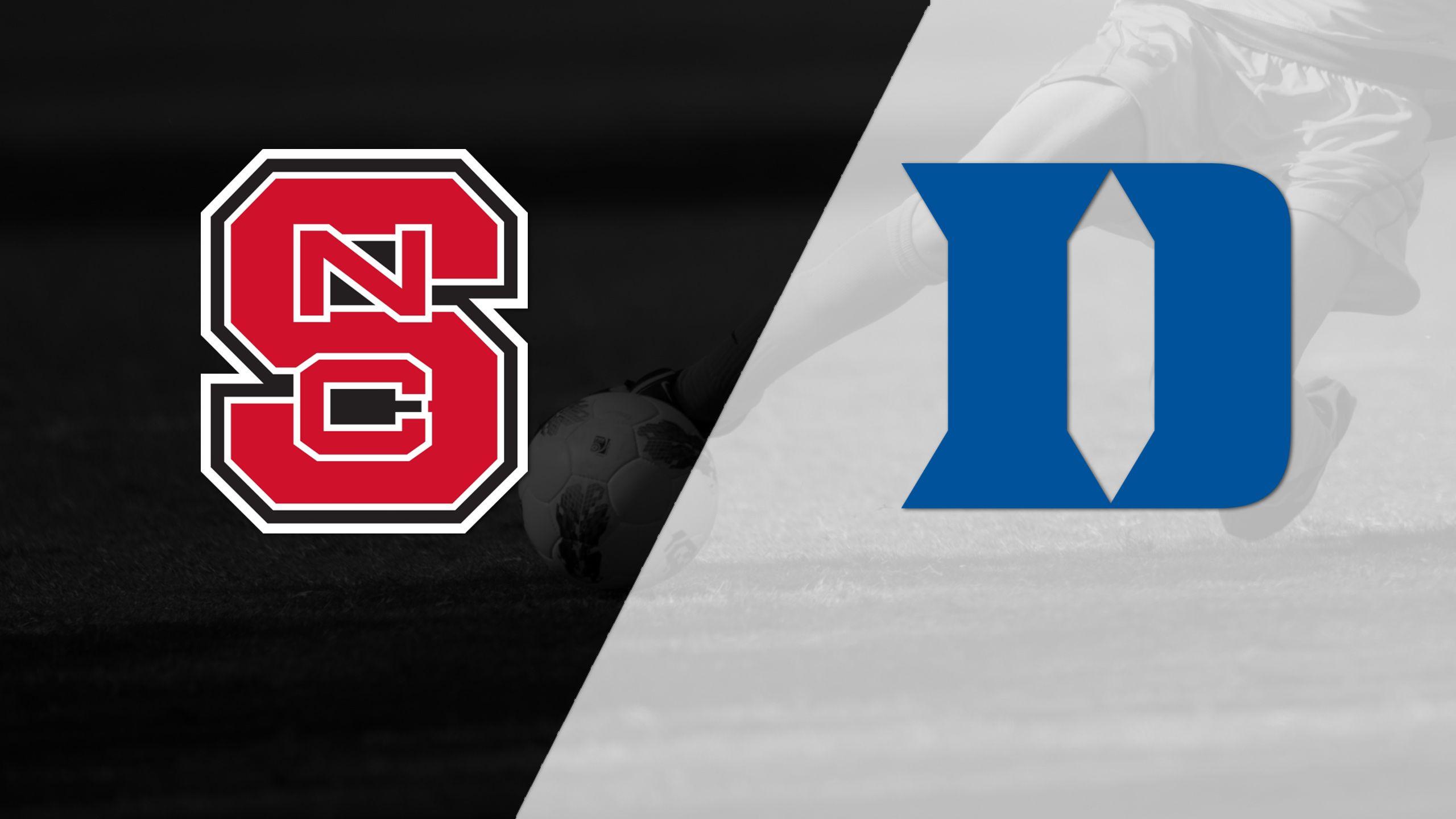 NC State vs. #4 Duke (W Soccer)