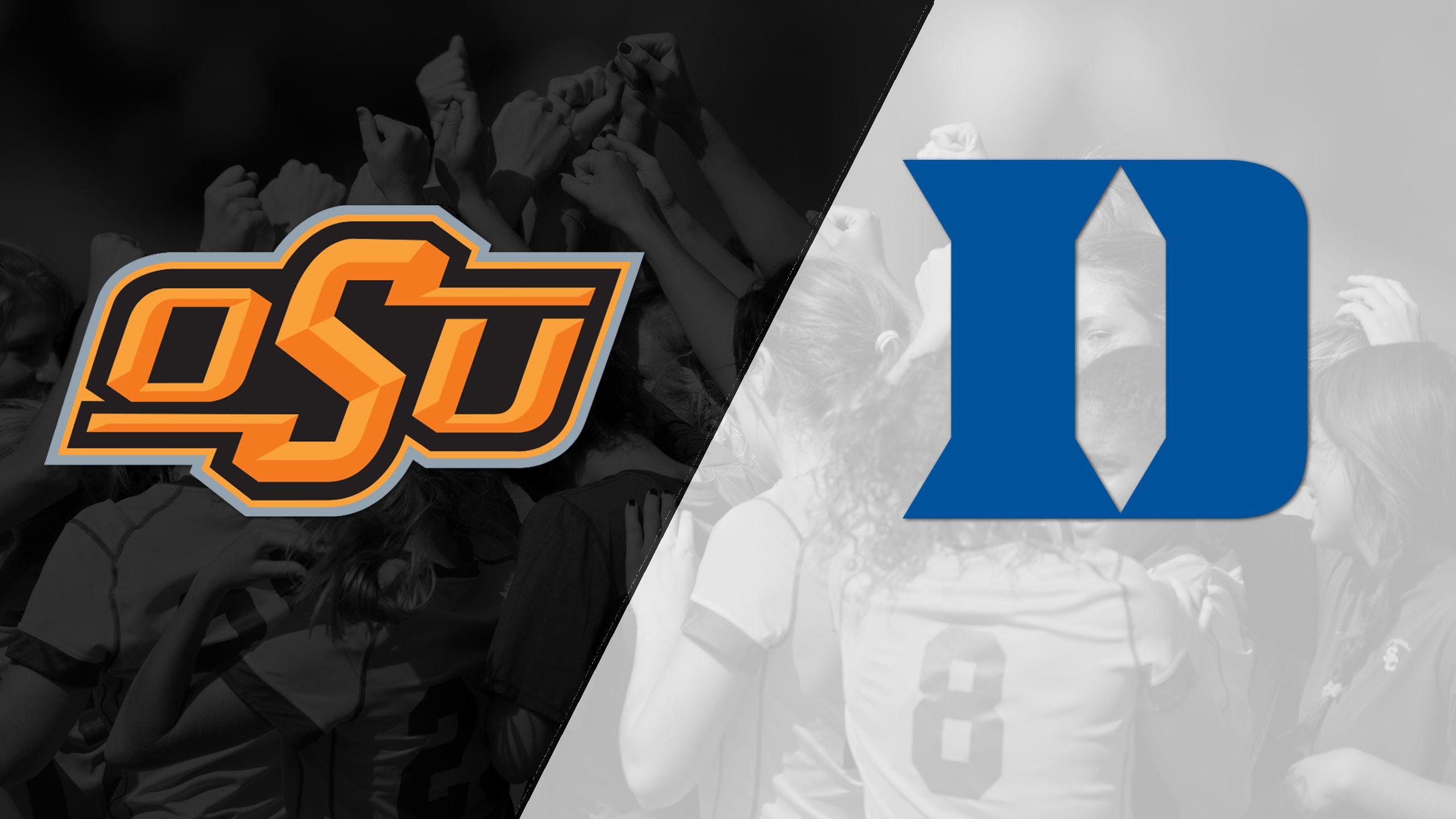 Oklahoma State vs. #1 Duke (Second Round) (NCAA Division I Women's Soccer Championship)