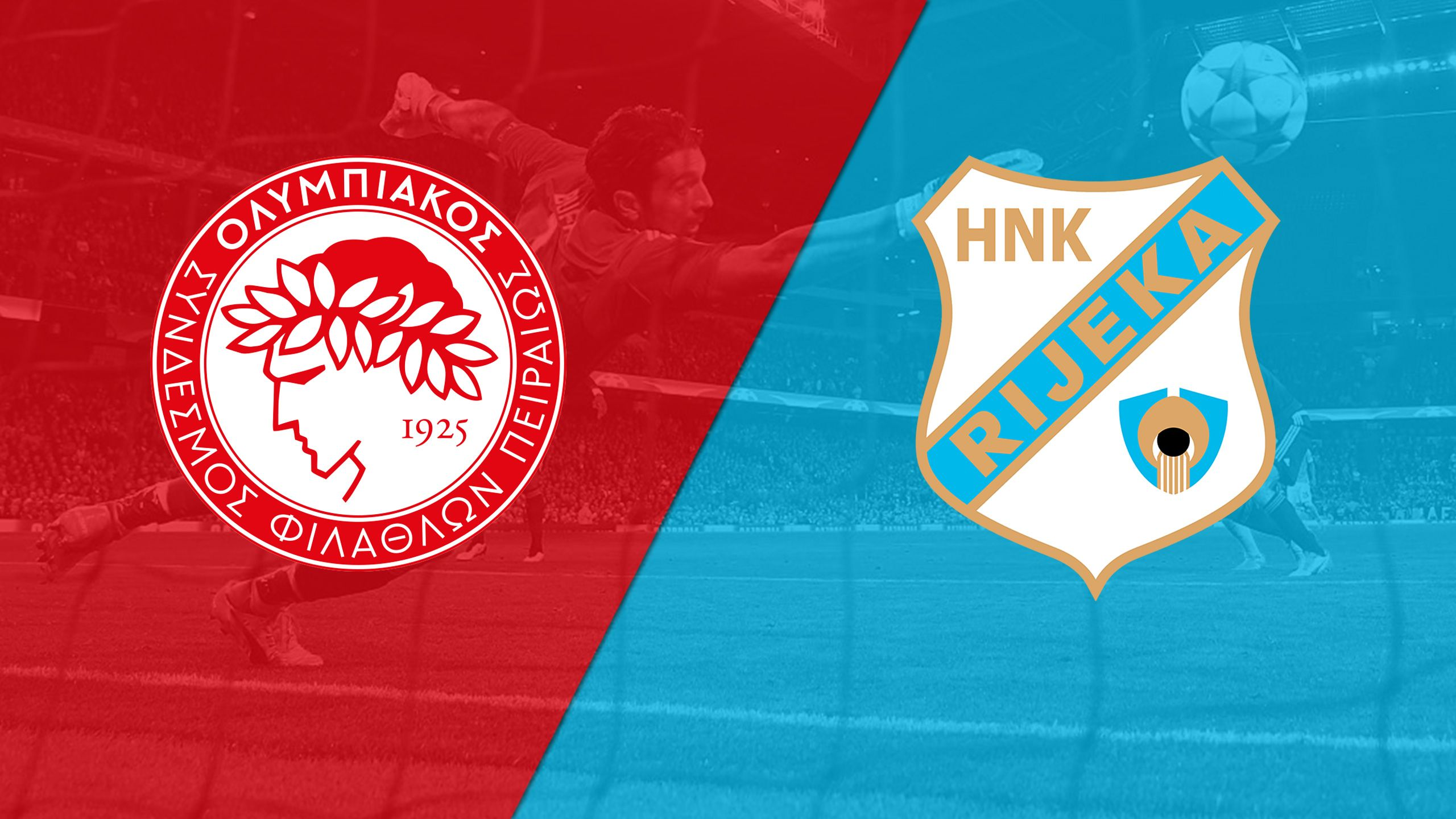 In Spanish - Olympiakos vs. Rijeka (Playoffs, 1st Leg) (UEFA Champions League)