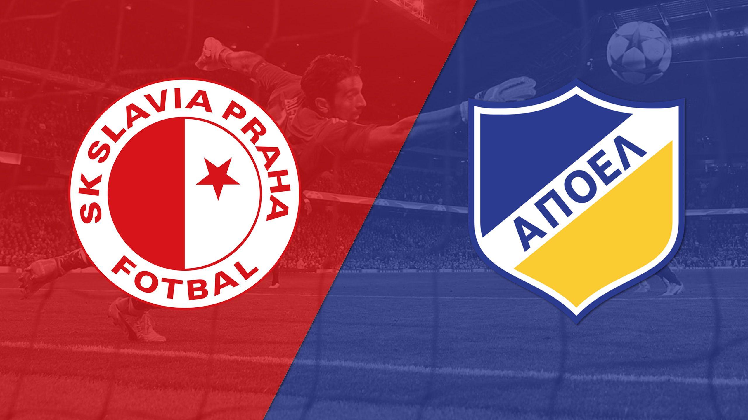 Slavia Praha vs. APOEL FC (Playoffs, 2nd Leg) (UEFA Champions League)