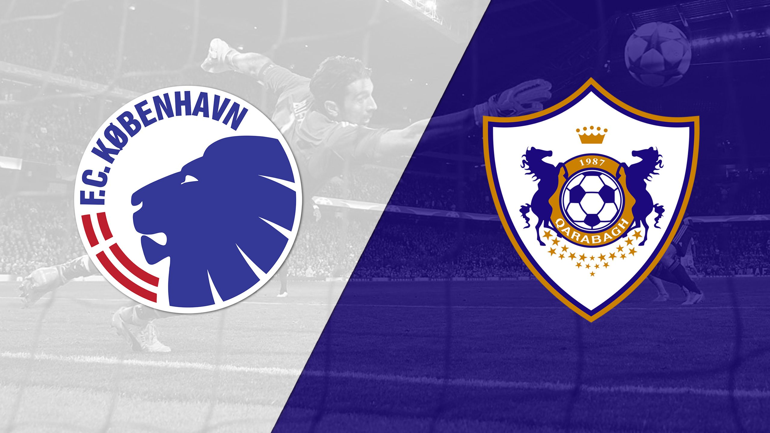 FC Kobenhavn vs. Qarabag (Playoffs, 2nd Leg) (UEFA Champions League)