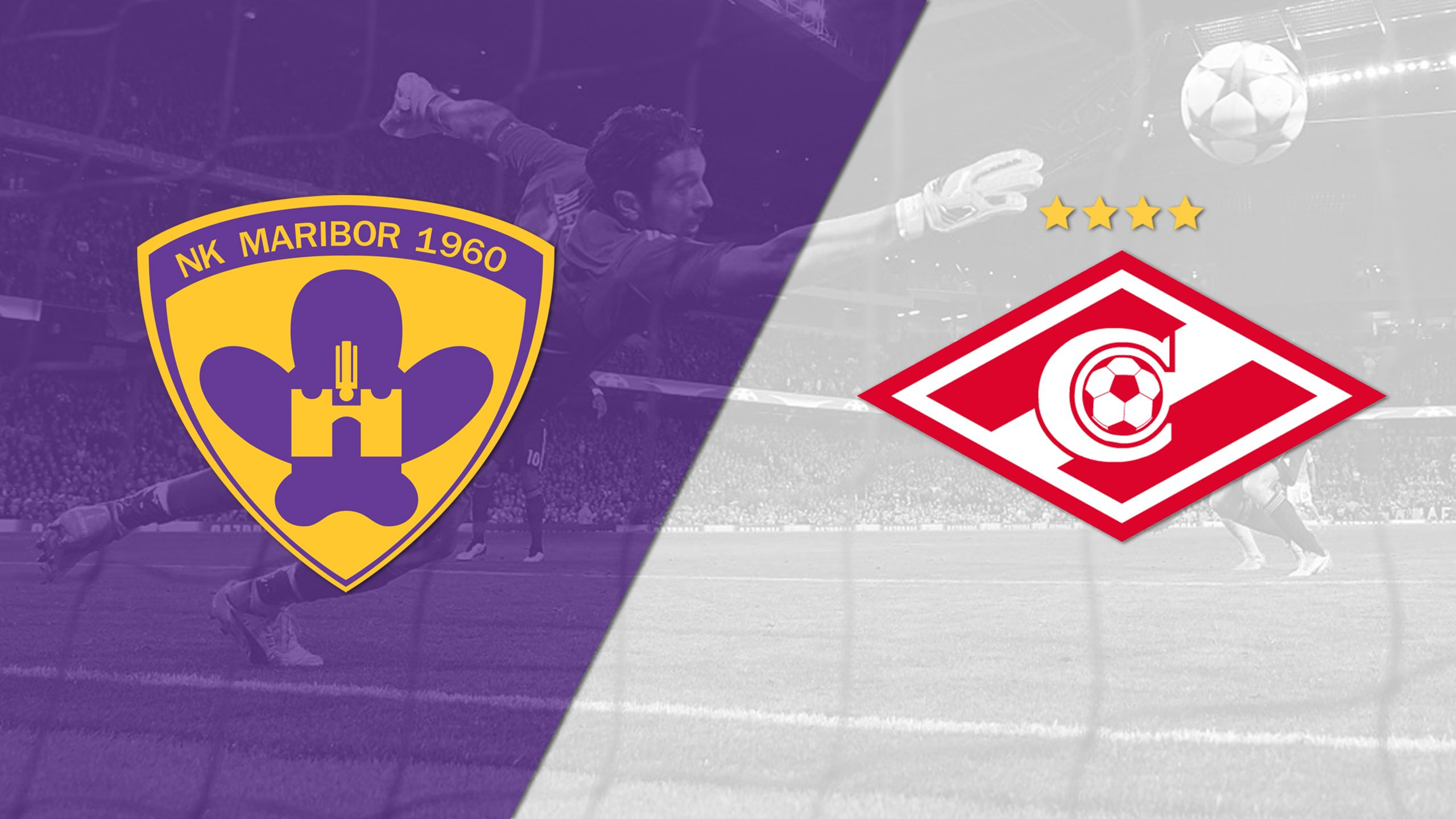 In Spanish - NK Maribor vs. Spartak Moskva (Group Stage) (UEFA Champions League) (re-air)