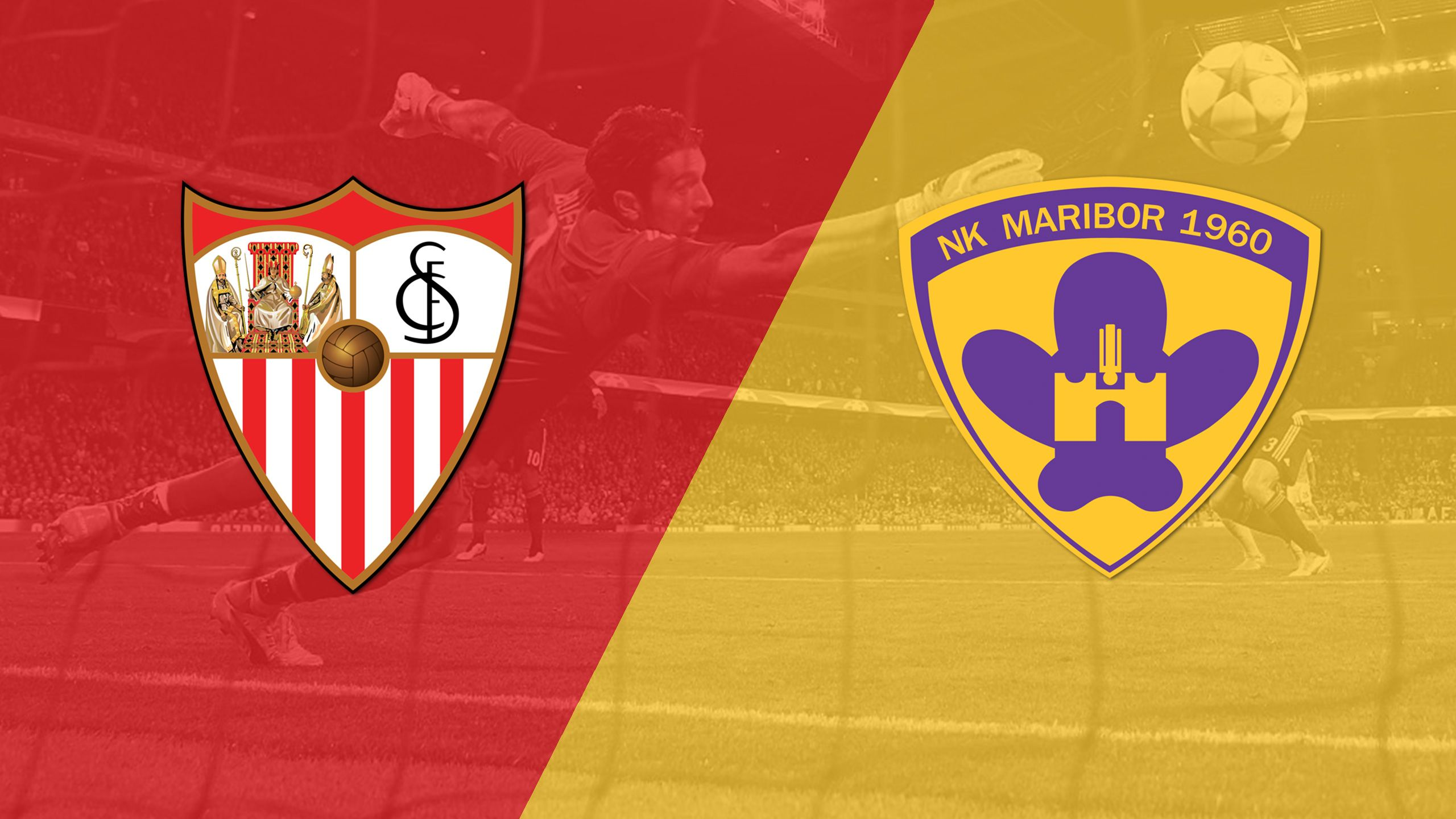 In Spanish - Sevilla vs. NK Maribor (Group Stage) (UEFA Champions League)