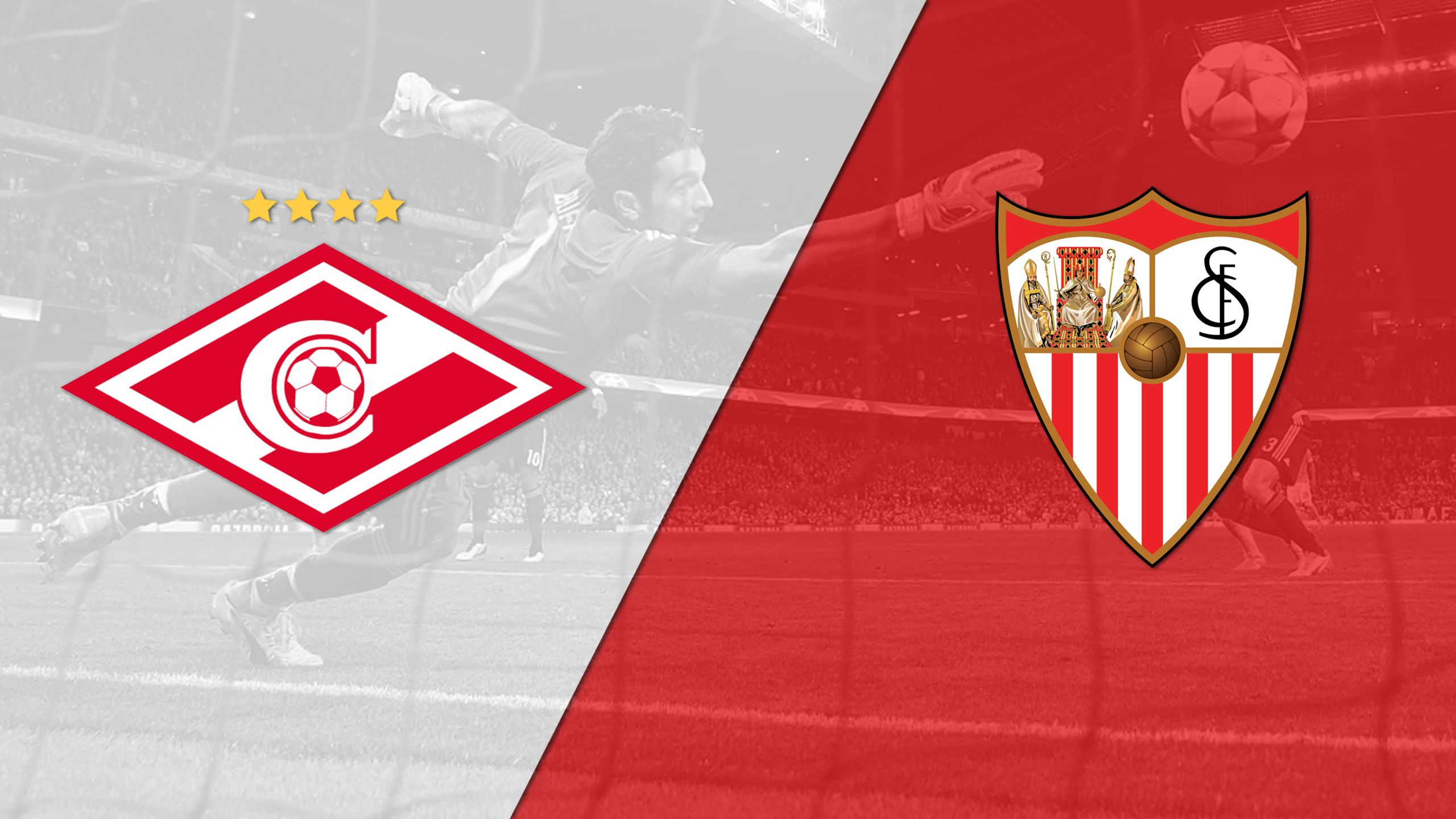 In Spanish - Spartak Moskva vs. Sevilla (Group Stage #3) (UEFA Champions League)