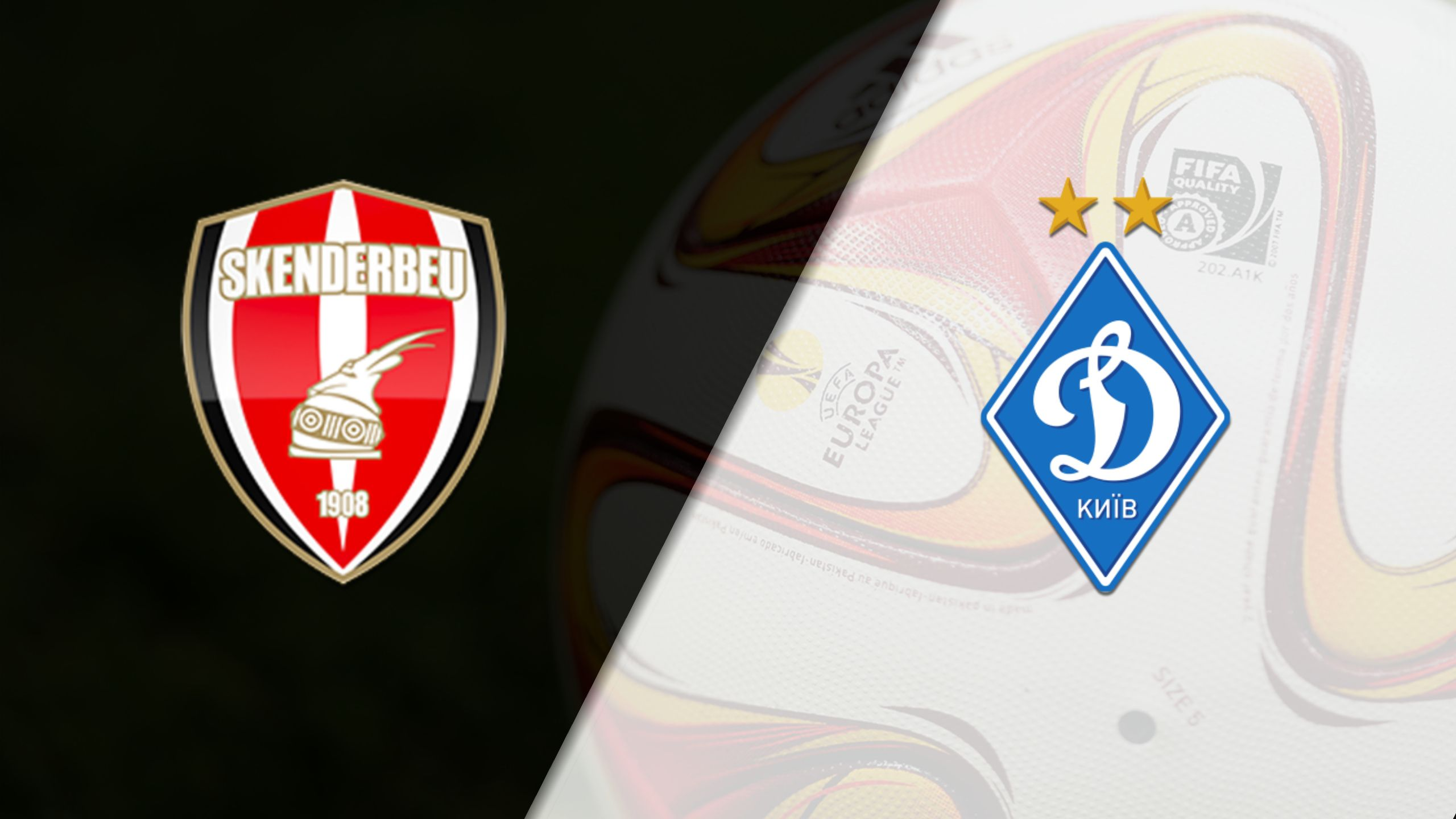 In Spanish - Skenderbeu vs. FC Dynamo Kyiv (Group Stage #5) (UEFA Europa League)
