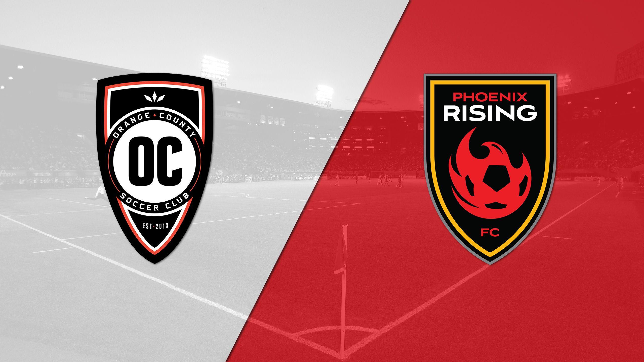 Orange County SC vs. Phoenix Rising FC