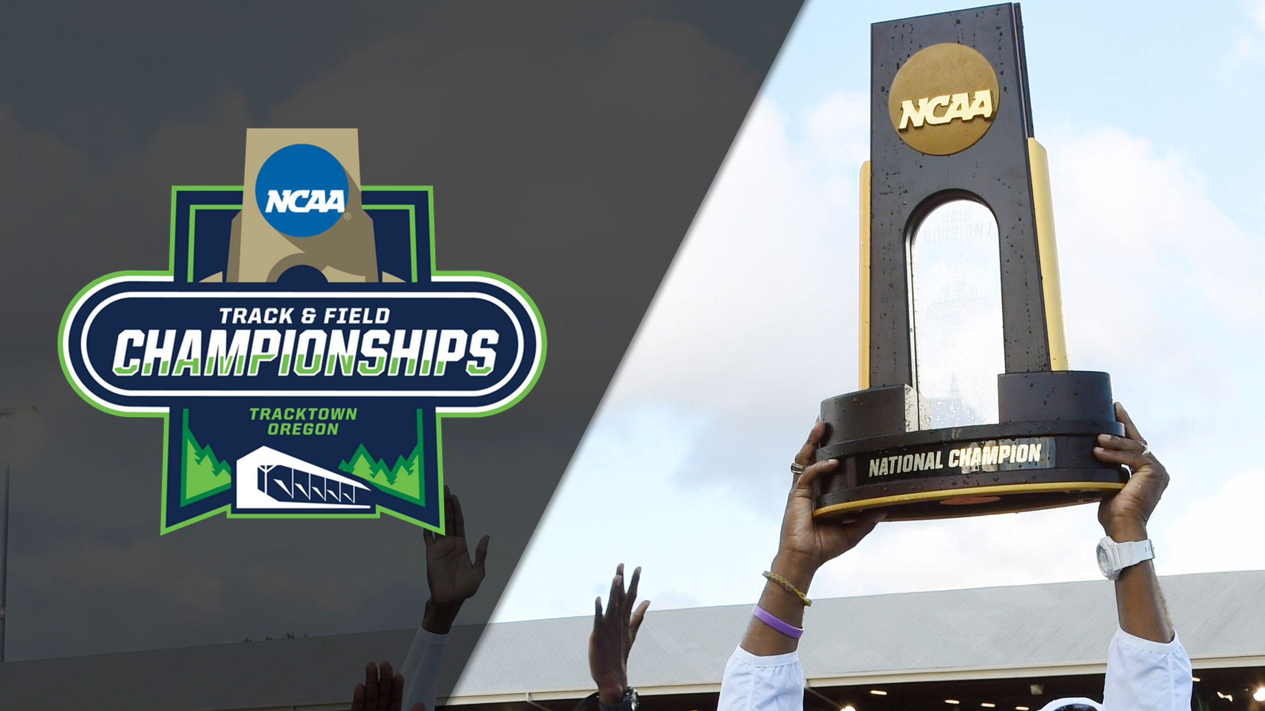 2017 NCAA Men's & Women's Track & Field Outdoor Championships Trophy Presentation