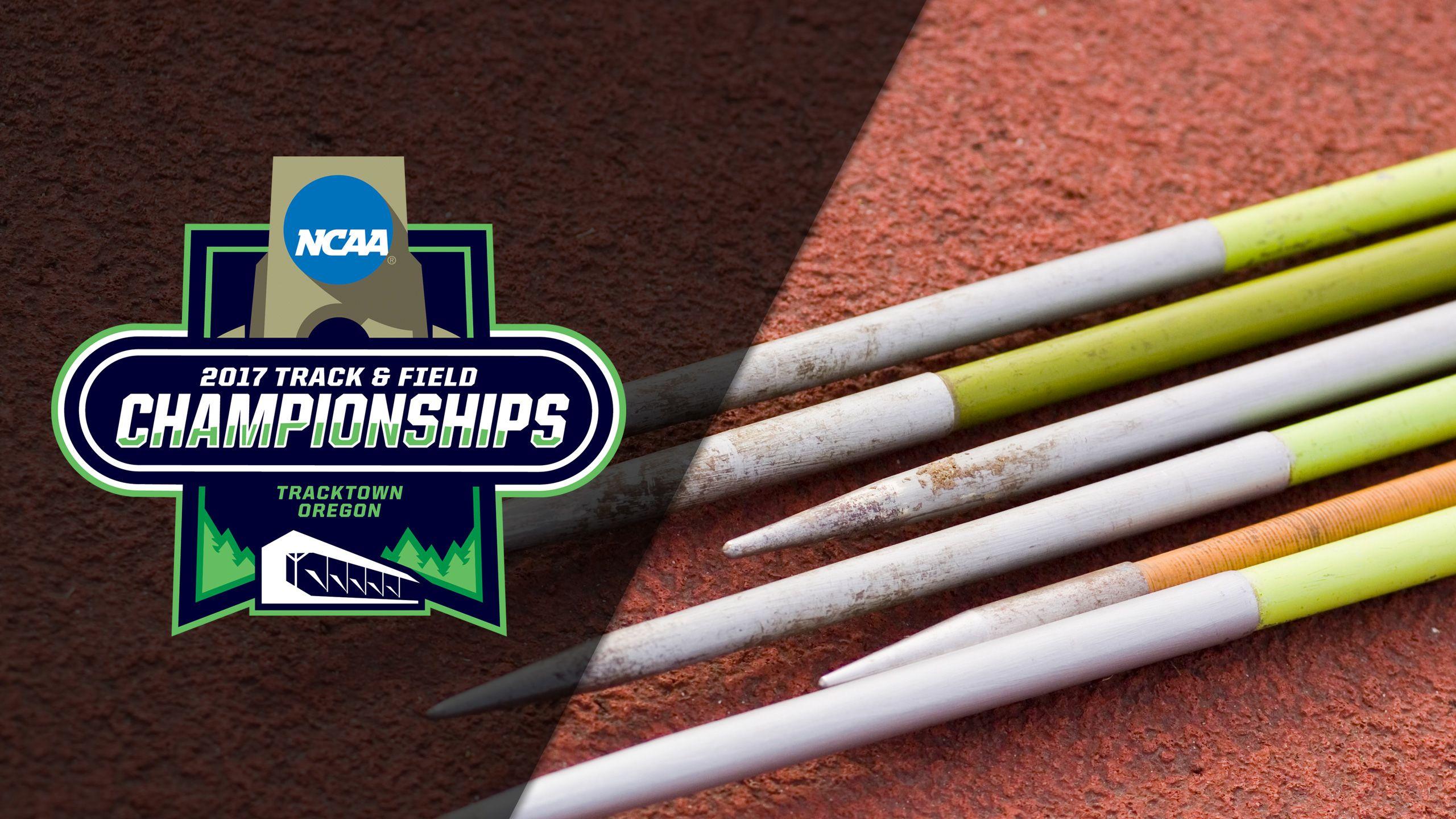 NCAA Track & Field Outdoor Championships - Decathlon: Javelin Throw