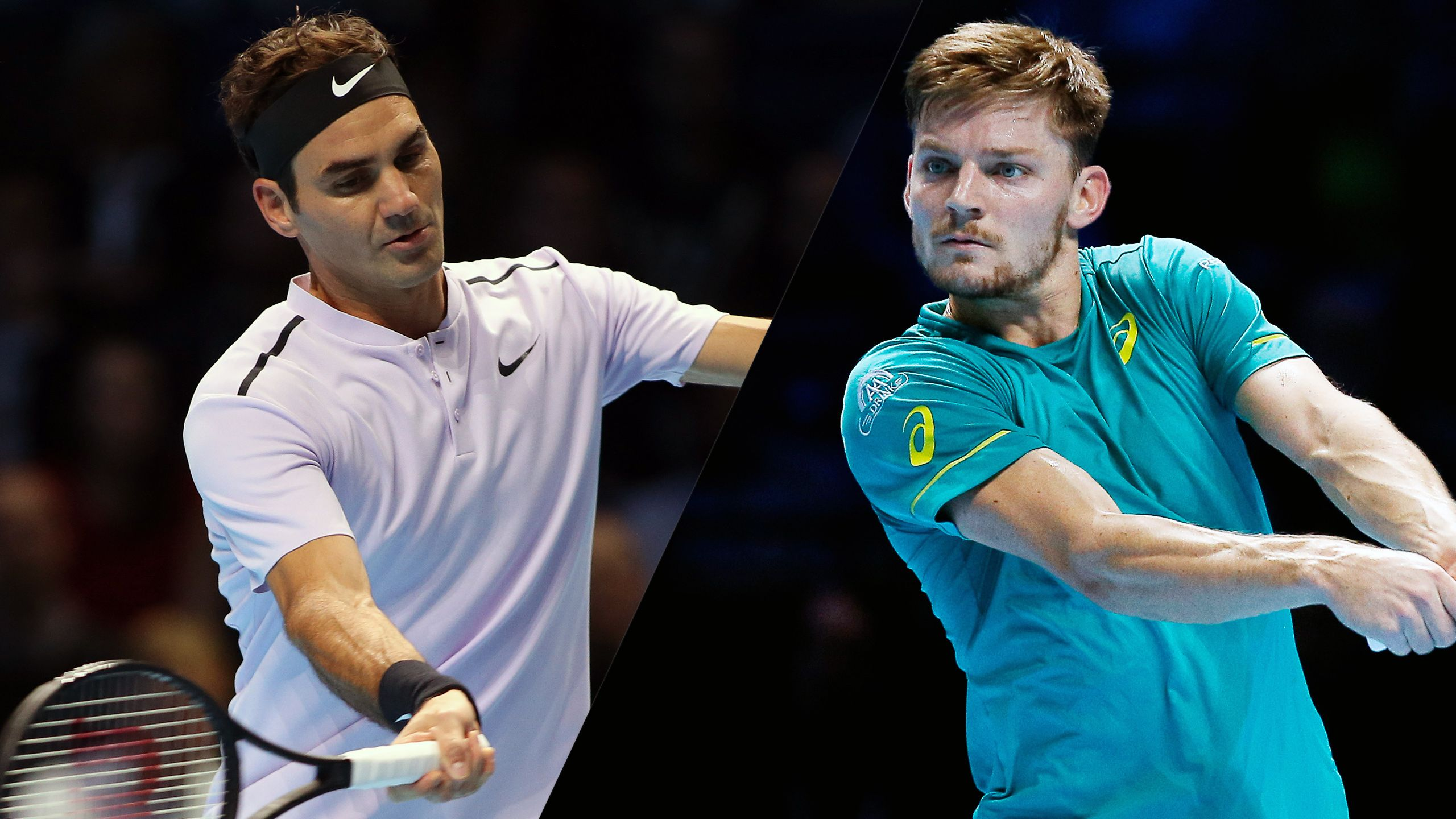 R. Federer vs. D. Goffin - Nitto ATP Finals (Semifinal #1)