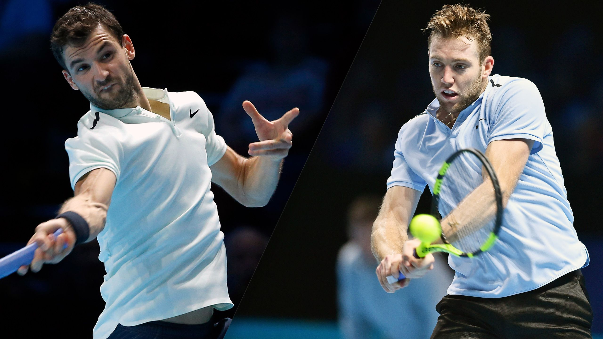 G. Dimitrov vs. J. Sock - Nitto ATP Finals (Semifinal #2)