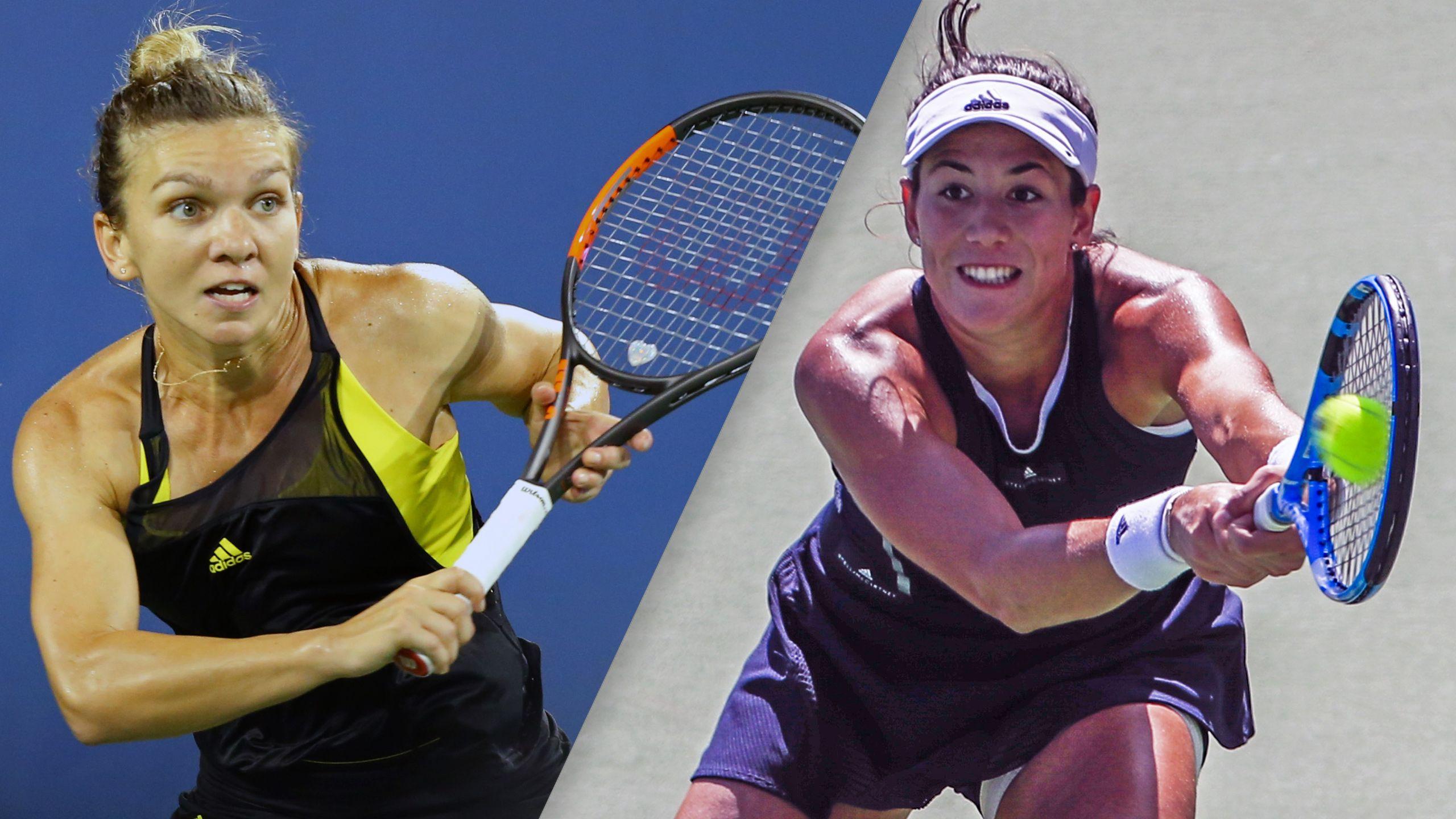 Simona Halep vs. Garbine Muguruza (Women's Championship)