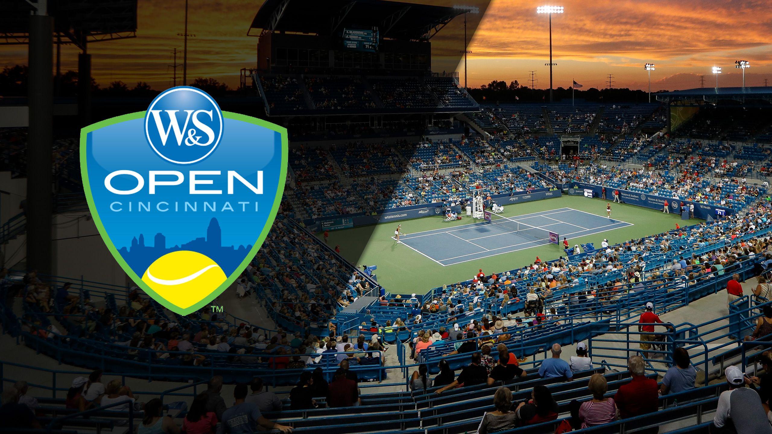 2017 US Open Series - Western & Southern Open (Men's & Women's Semifinals)