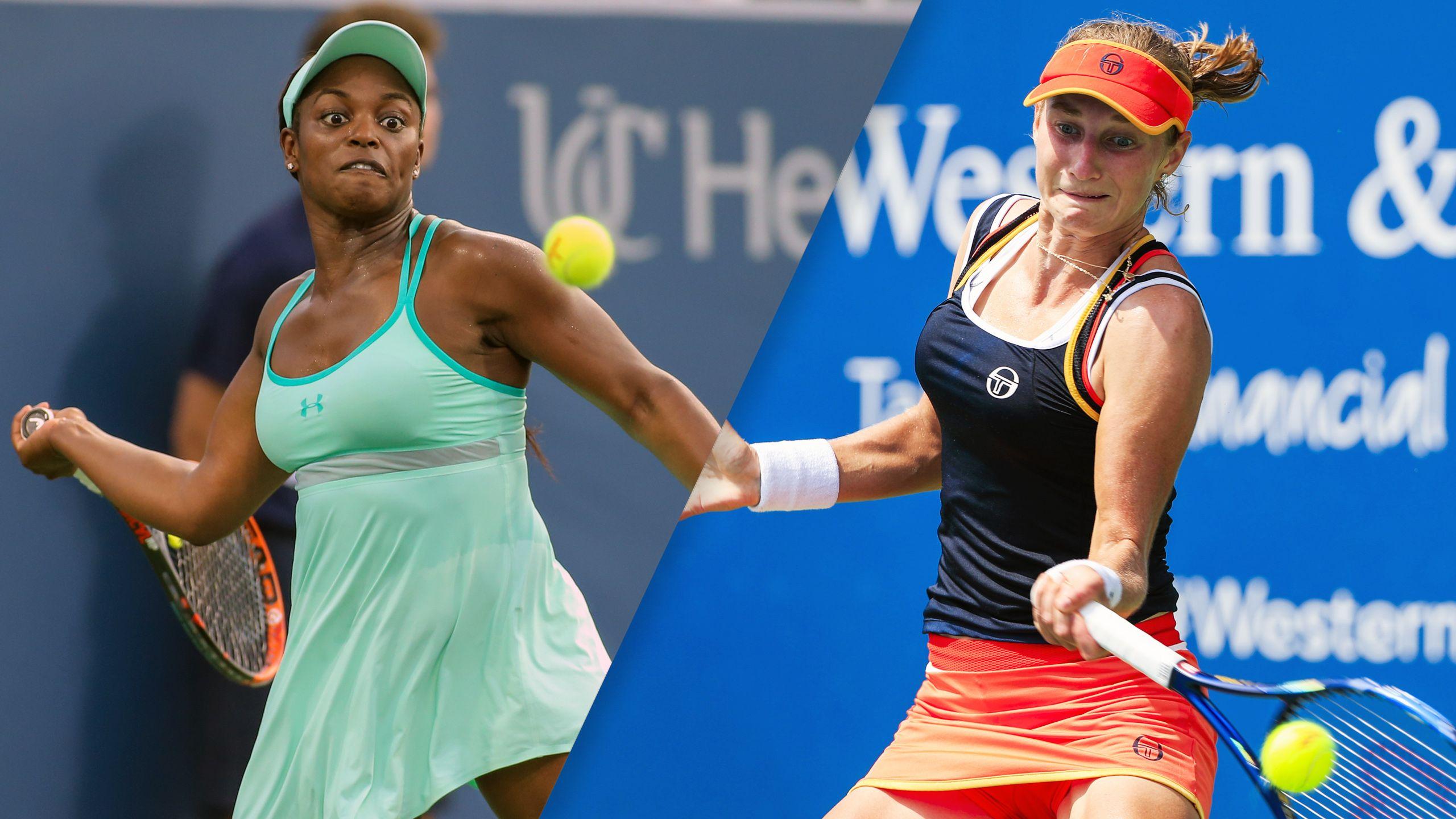 Sloane Stephens vs. Ekaterina Makarova (Women's Round of 16)