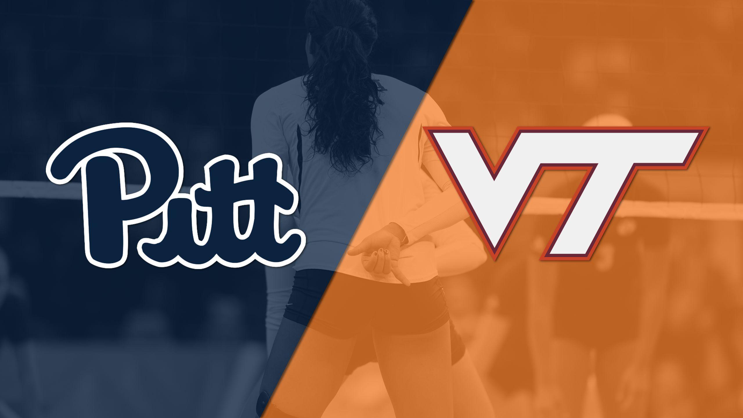 Pittsburgh vs. Virginia Tech (W Volleyball)