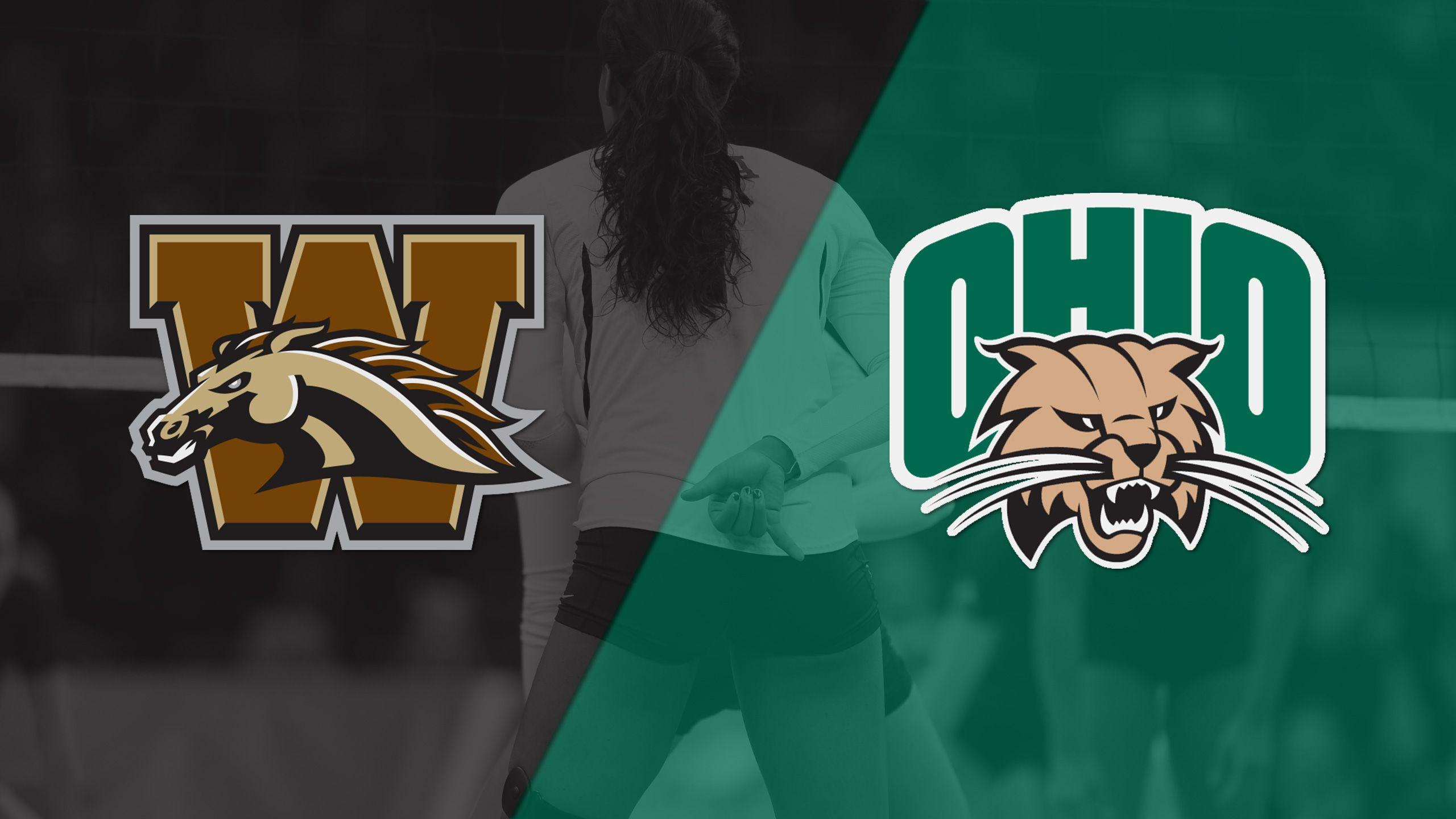 Western Michigan vs. Ohio (W Volleyball)