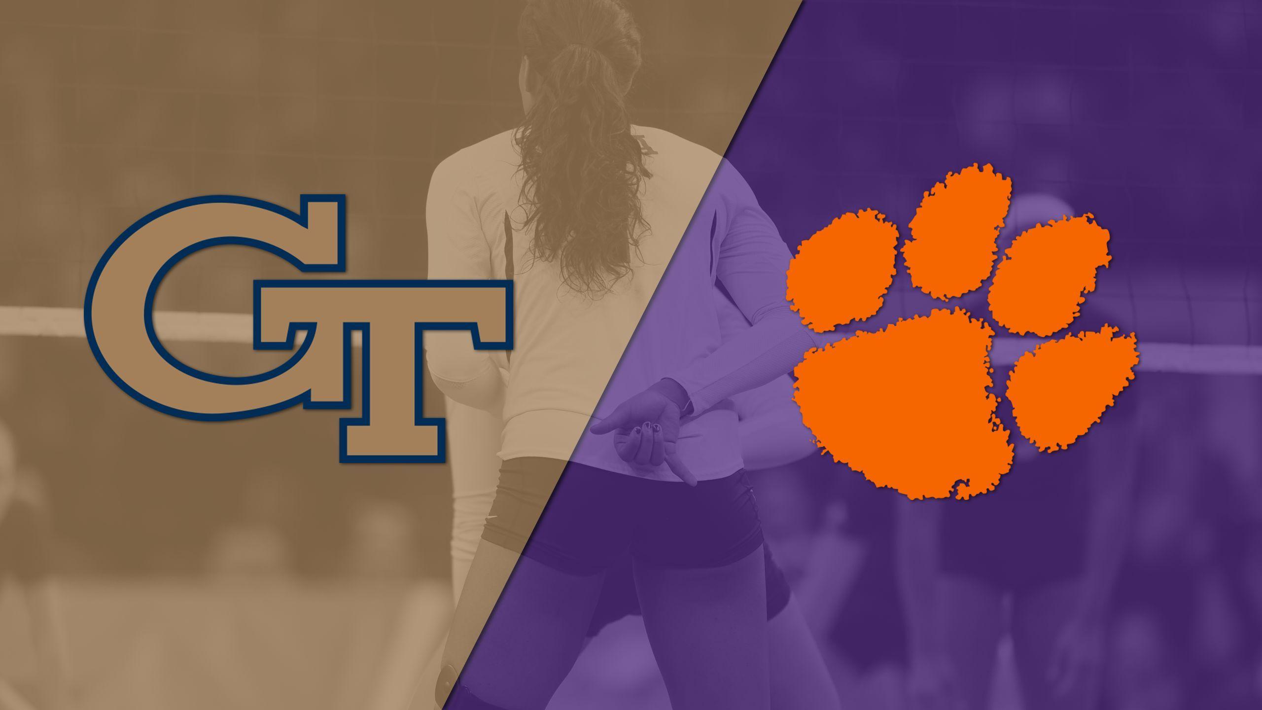 Georgia Tech vs. Clemson (W Volleyball)