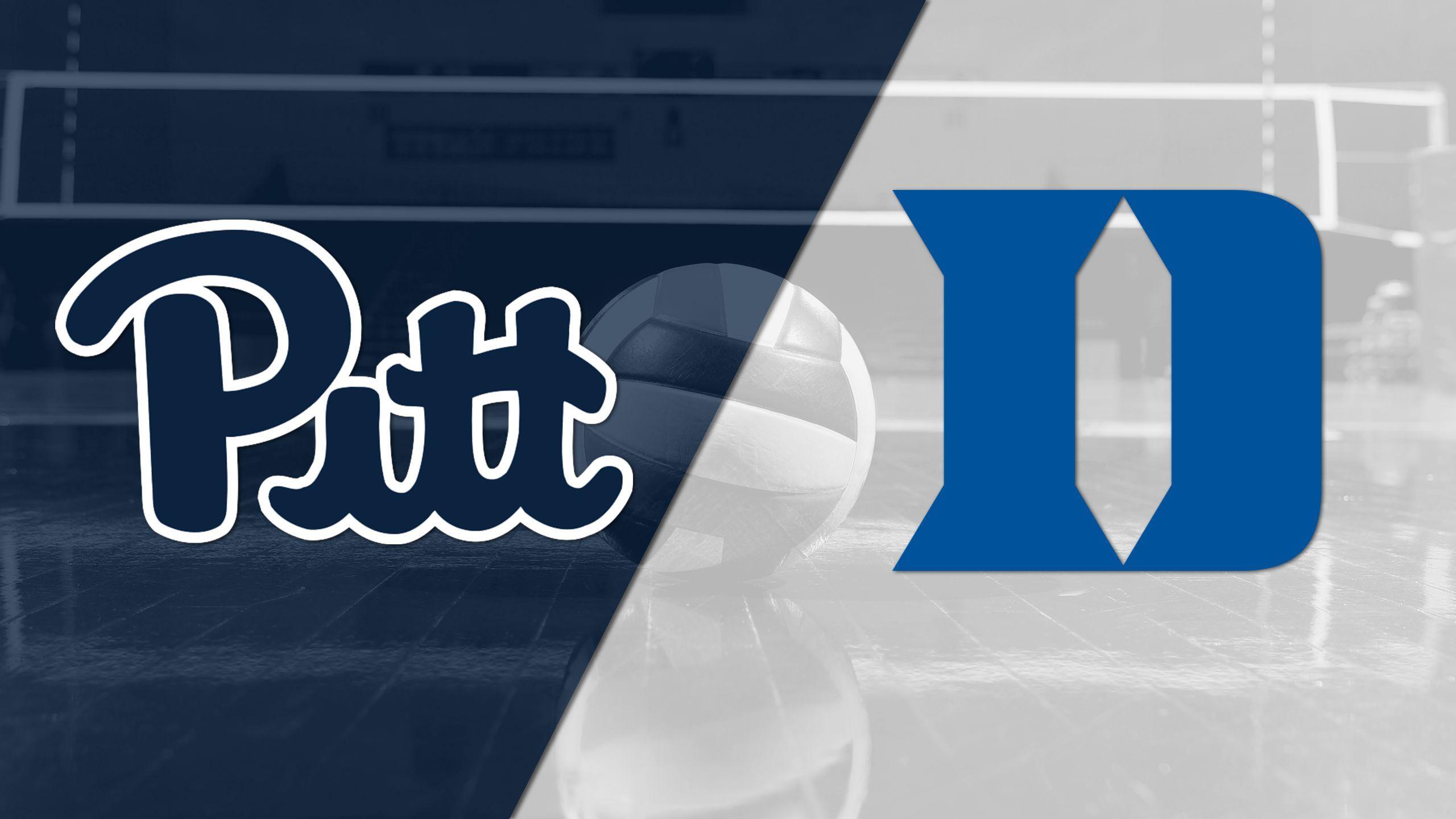 Pittsburgh vs. Duke (W Volleyball)