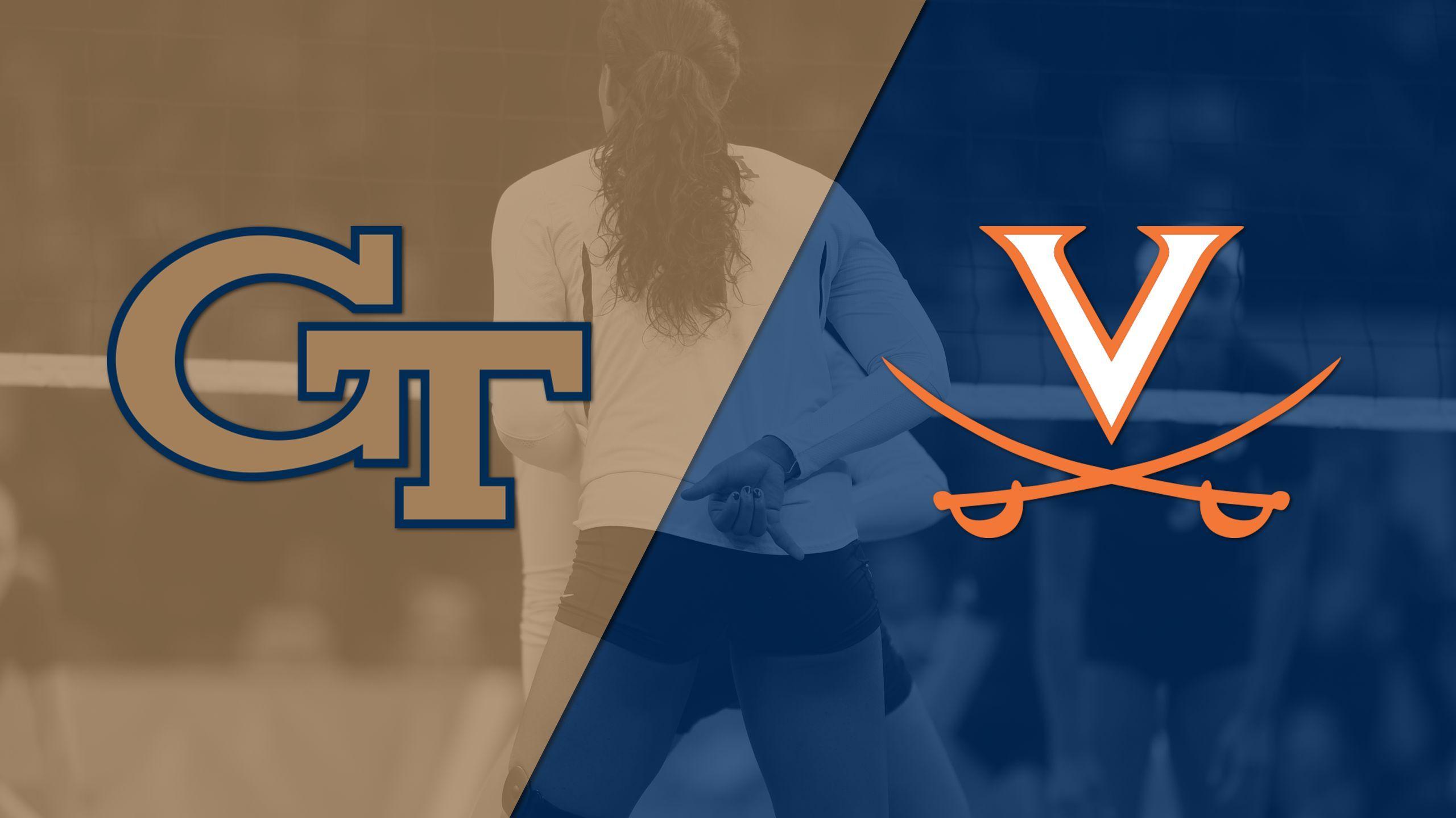 Georgia Tech vs. Virginia (W Volleyball)