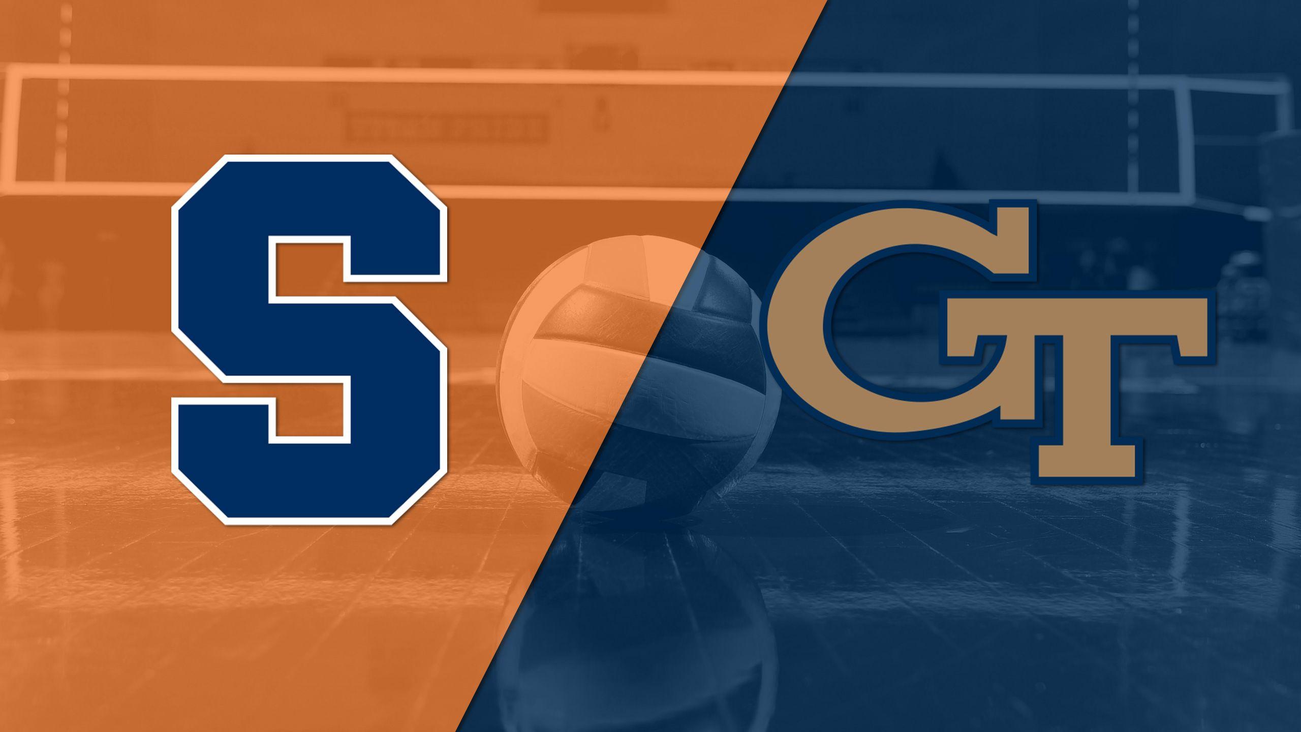 Syracuse vs. Georgia Tech (W Volleyball)