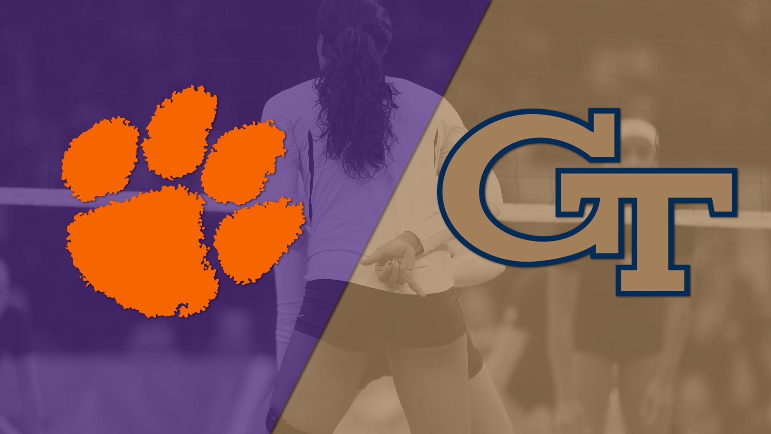 Clemson vs. Georgia Tech (W Volleyball)
