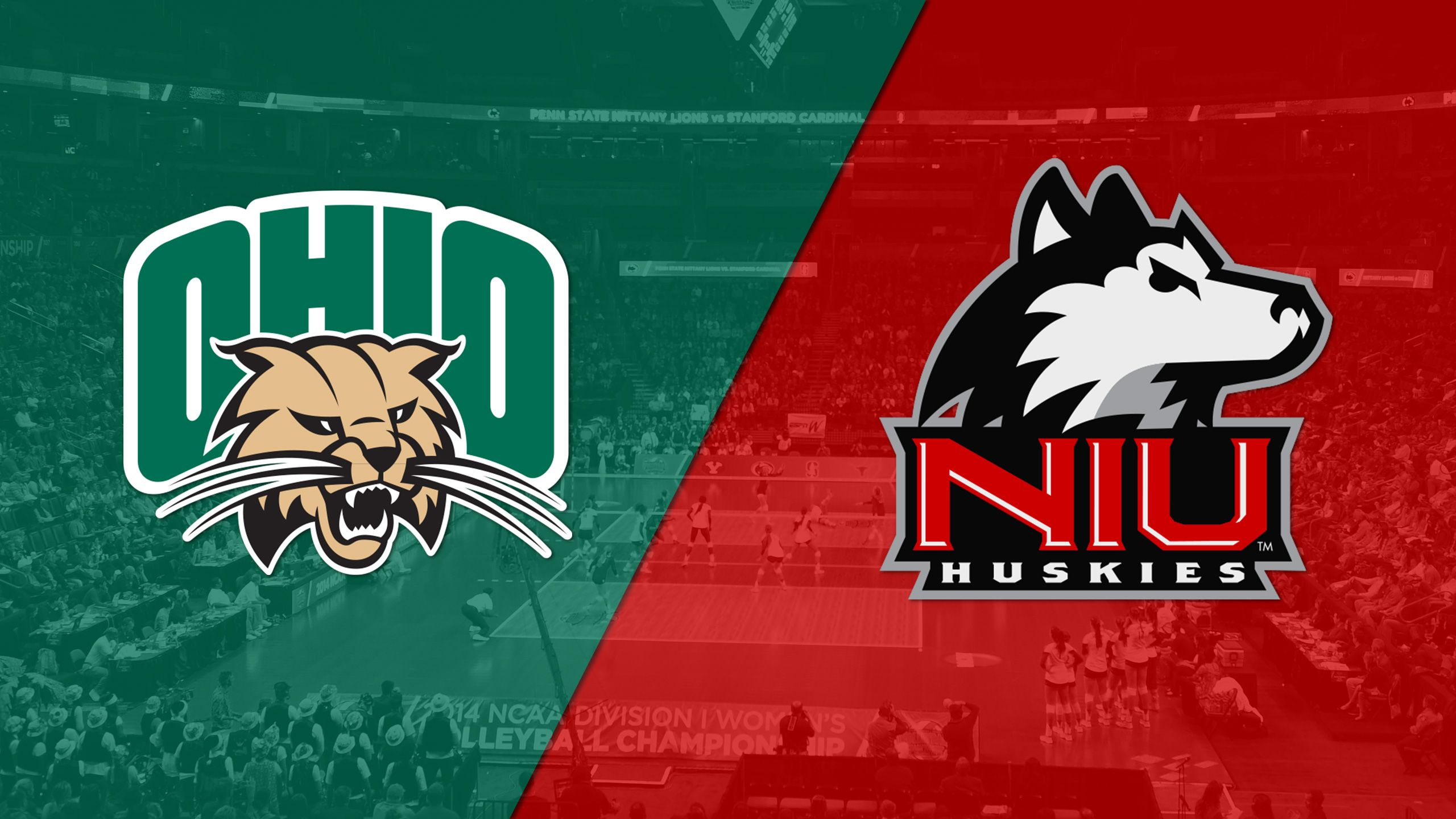 Ohio vs. Northern Illinois (Semifinal #2) (MAC Women's Volleyball Championship)